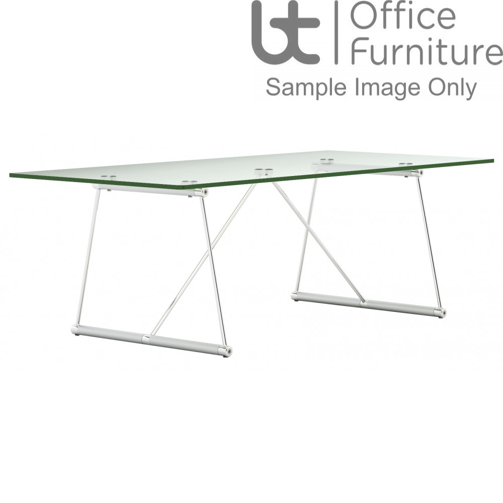 Elite Coffee Tables - Rectangular - Clear Glass
