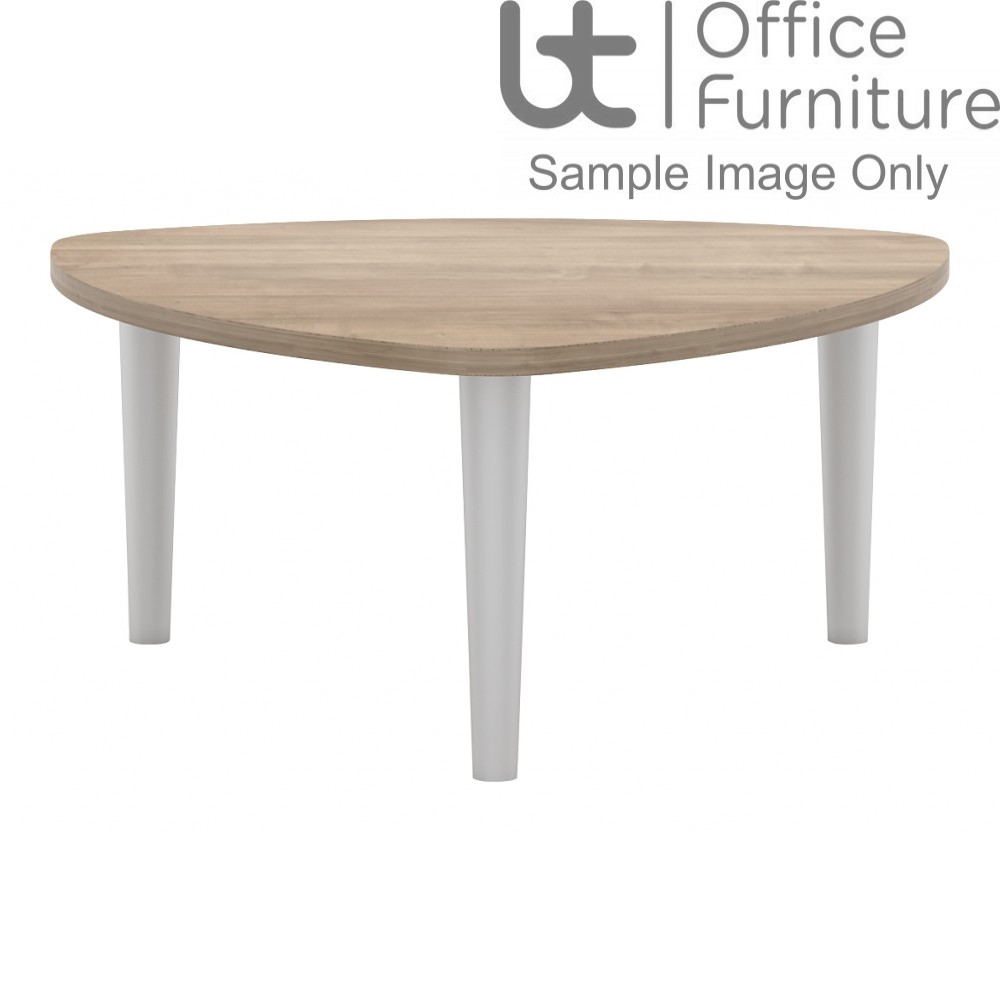 Elite Coffee Tables - Triangular with 3 Tapered legs