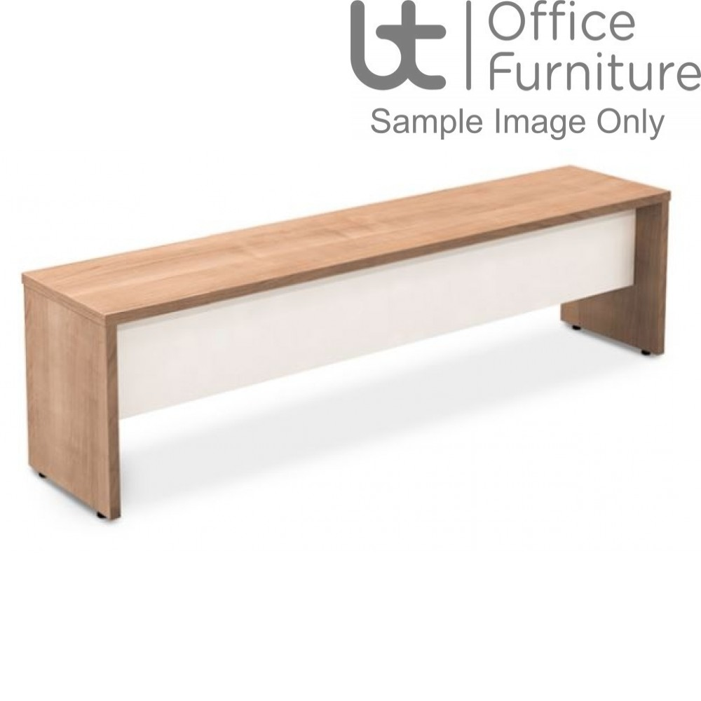 Robust Block Panel Frame Bench Seat W1600 x D350 x H410mm