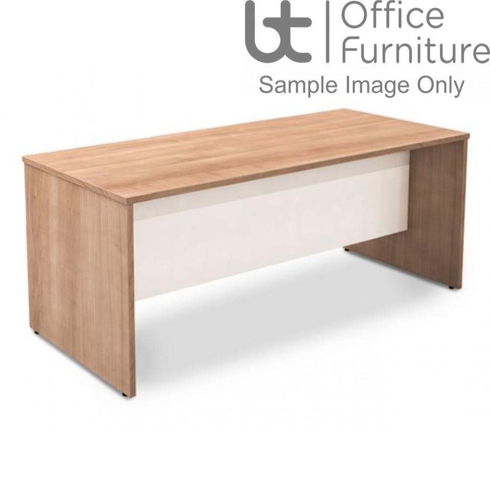 Robust Block Panel Frame Bench Dining Table W1400 x D800 x H740mm