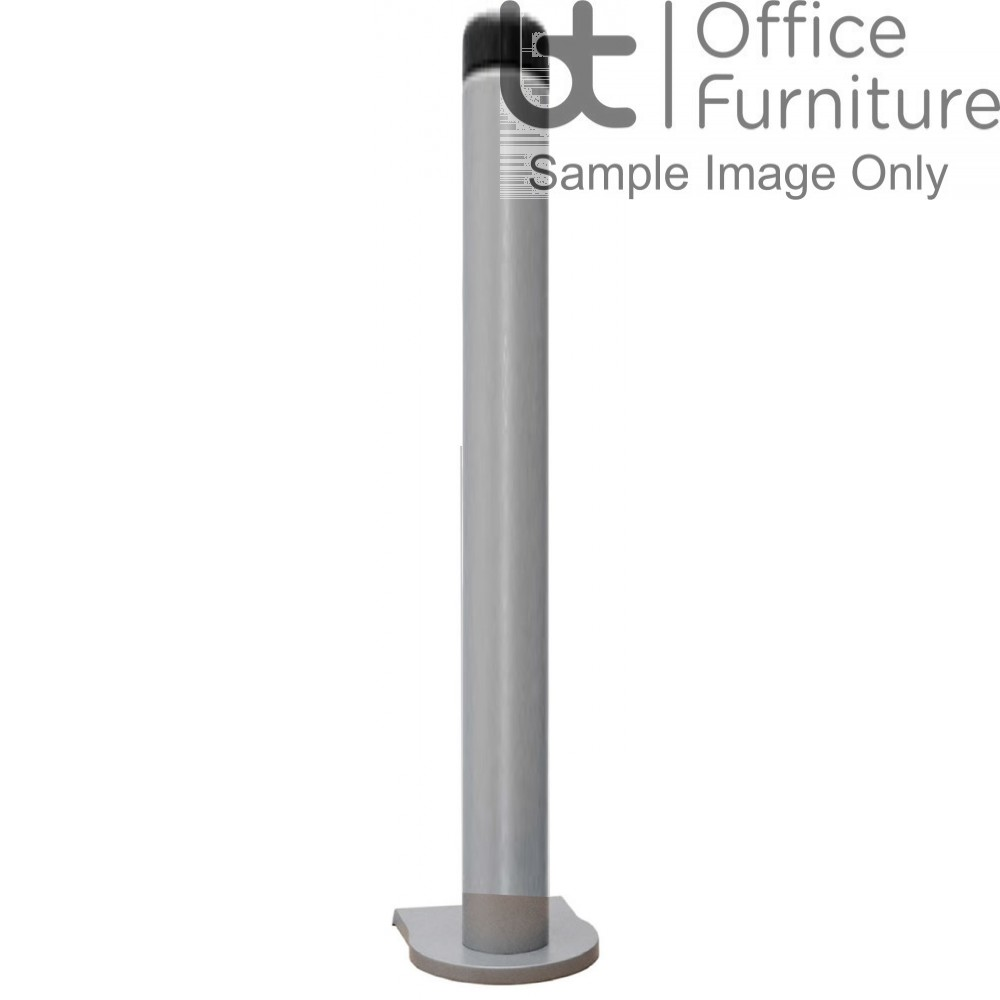 Vision S 400mm Pole plus C Clamp, Through Desk and Grommet Fixing (No Arm)