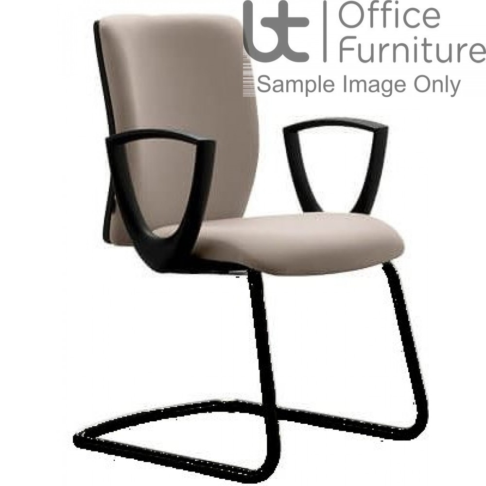 Verco Operator/Task Chair - Pop Medium Back Visitor Chair with Arms
