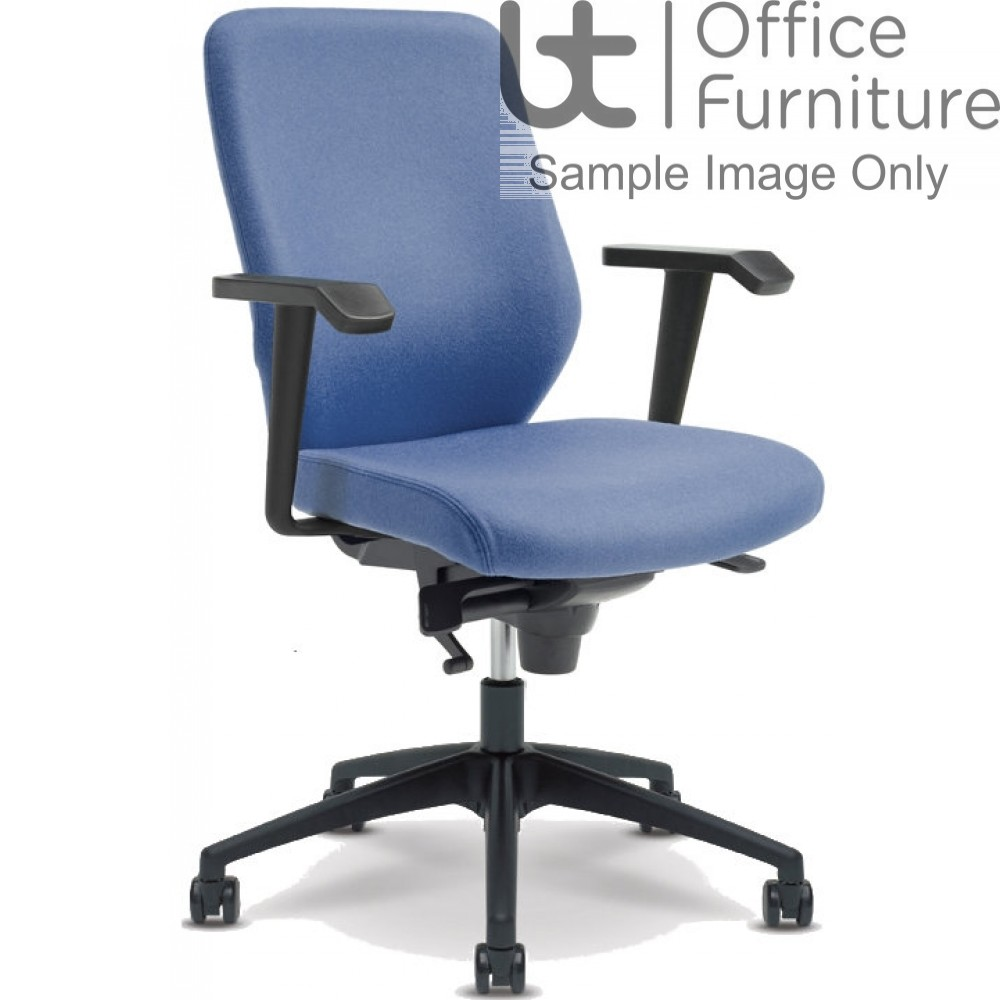 Verco Operator/Task Chair - Profile 24 Medium Back Task Chair with Arms