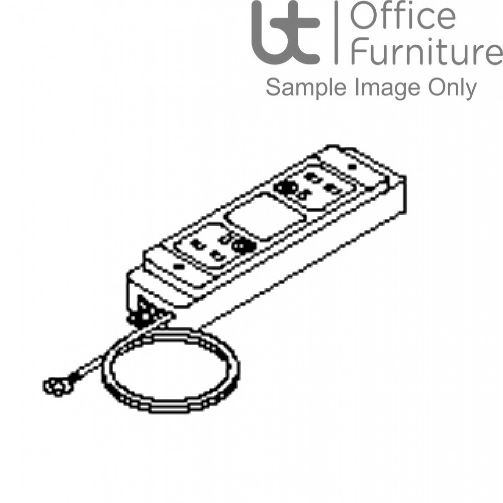 Verco Intuition Double Power Socket