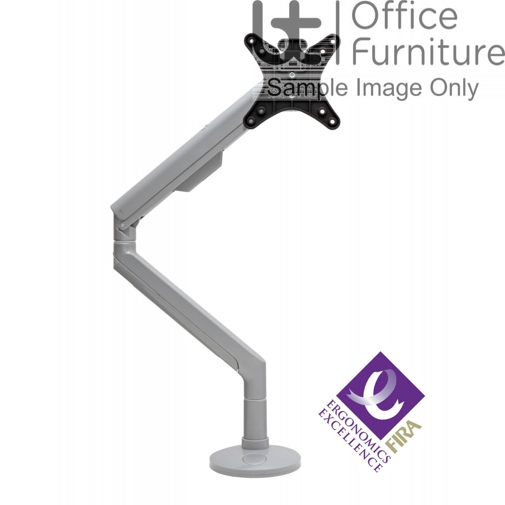Reach HD Spring Assisted Arm - (3KG to 8KG Monitor) - Quick Release VESA Plate Fixing