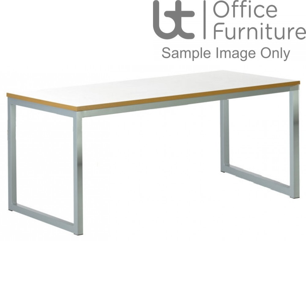 Urban 40/40 Robust 25mm Laminate Top School Bench Dining Table W2200mm (Std Frame Colours)