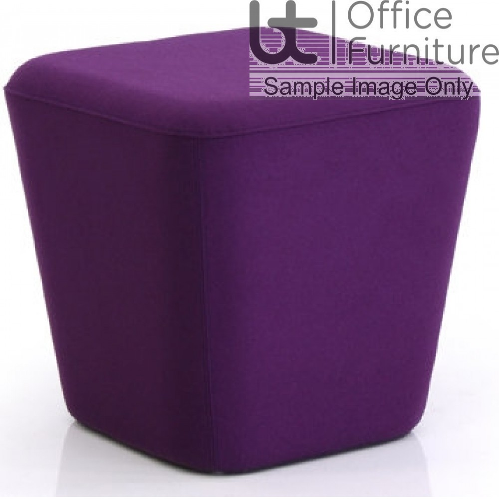 Verco Soft Seating - See Single Cup Shaped Upholstered Stool