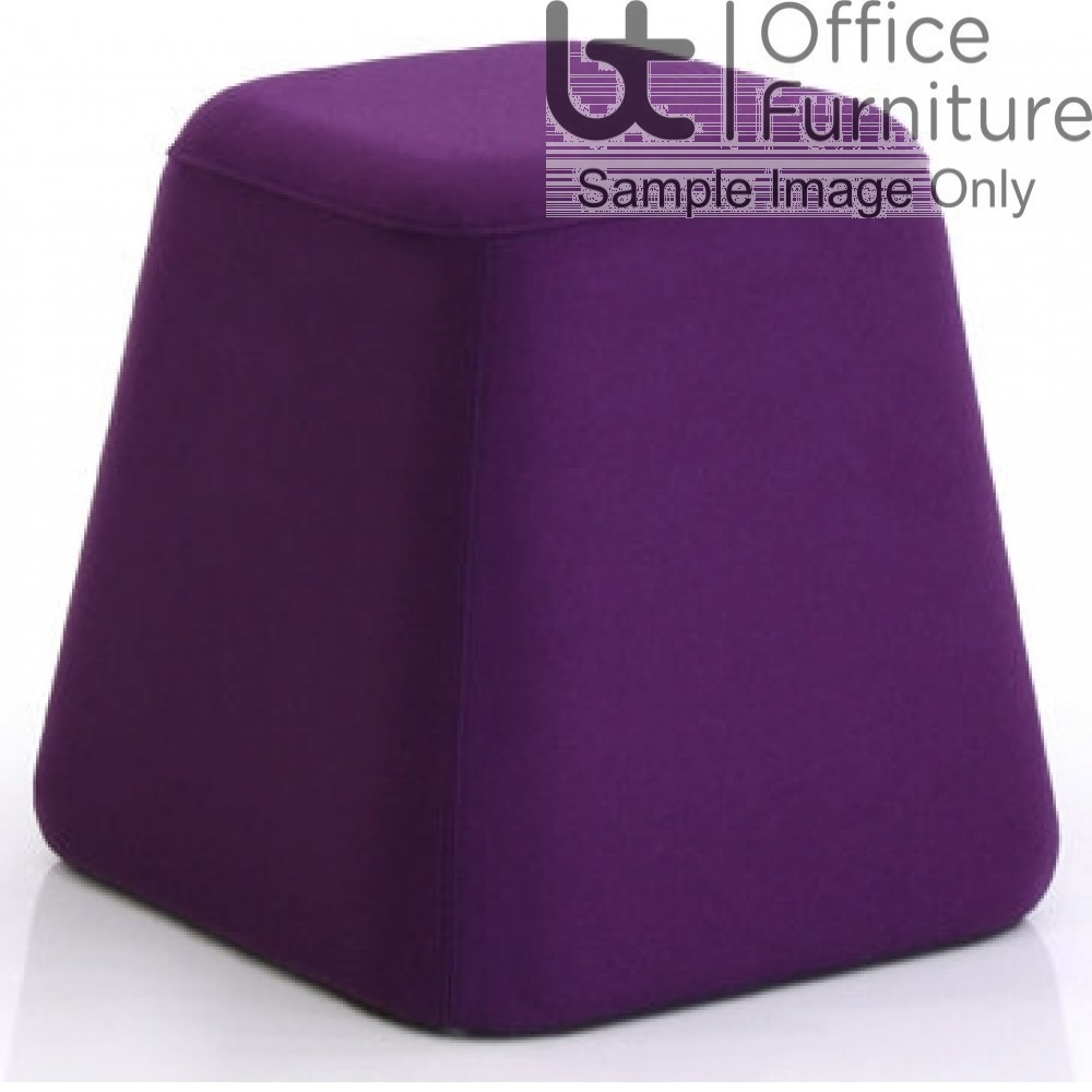 Verco Soft Seating - See Single Cone Shaped Upholstered Stool