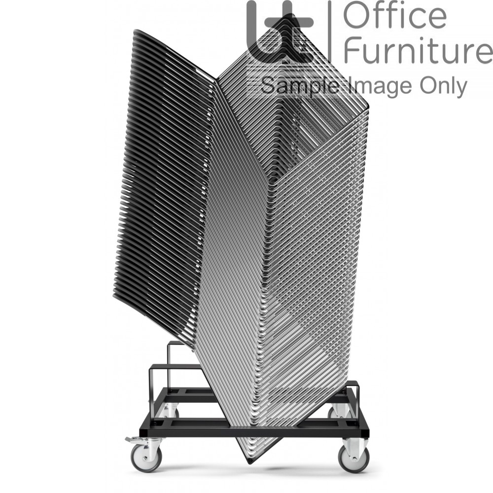 Verco Visitor / Conference Seating - Stax60 Heavy Duty Trolley for x 60 Chairs