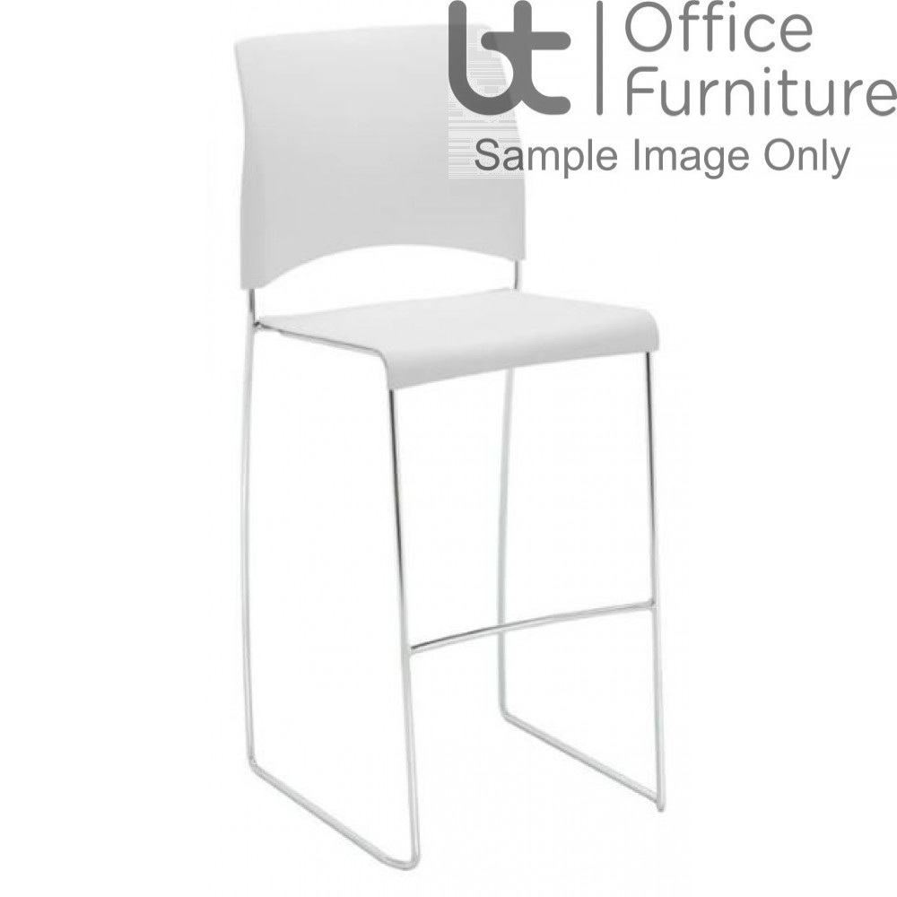 Verco Visitor / Conference Seating - Sting Medium Back Plastic Stacking High Chair