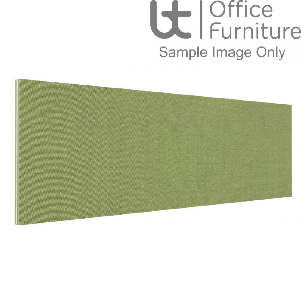 Innovate Venice Fabric Desk Mounted Straight Screen 380mm High - Non Linking
