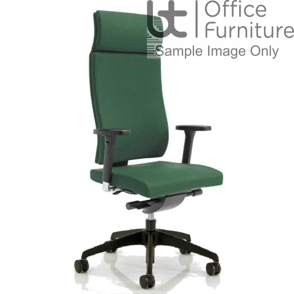 Verco Executive seating - Vibe Fully Upholstered High Back Task Adjustable Armchair