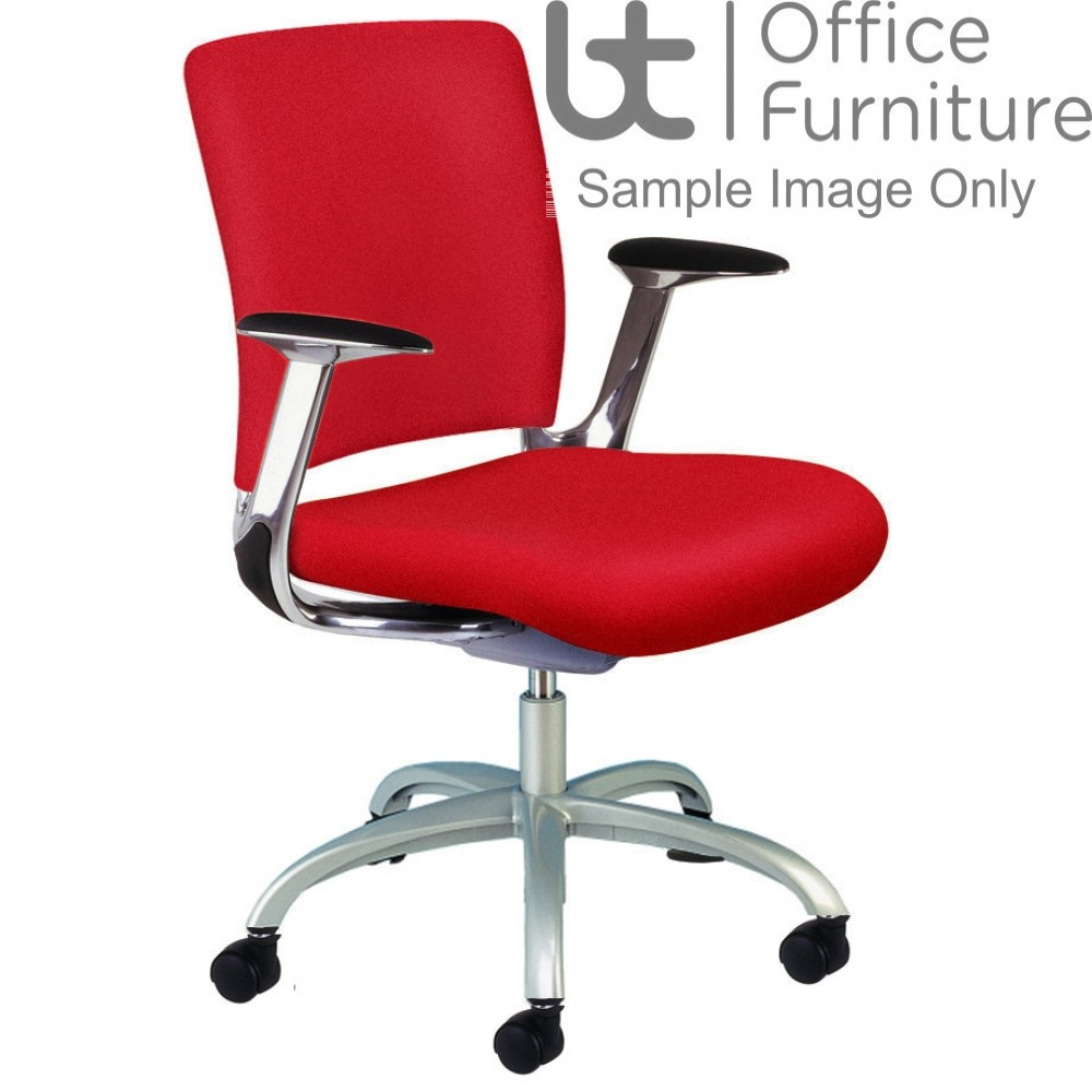 Verco Operator/Task Chair - V-Smart Medium Back Task Chair with Arms