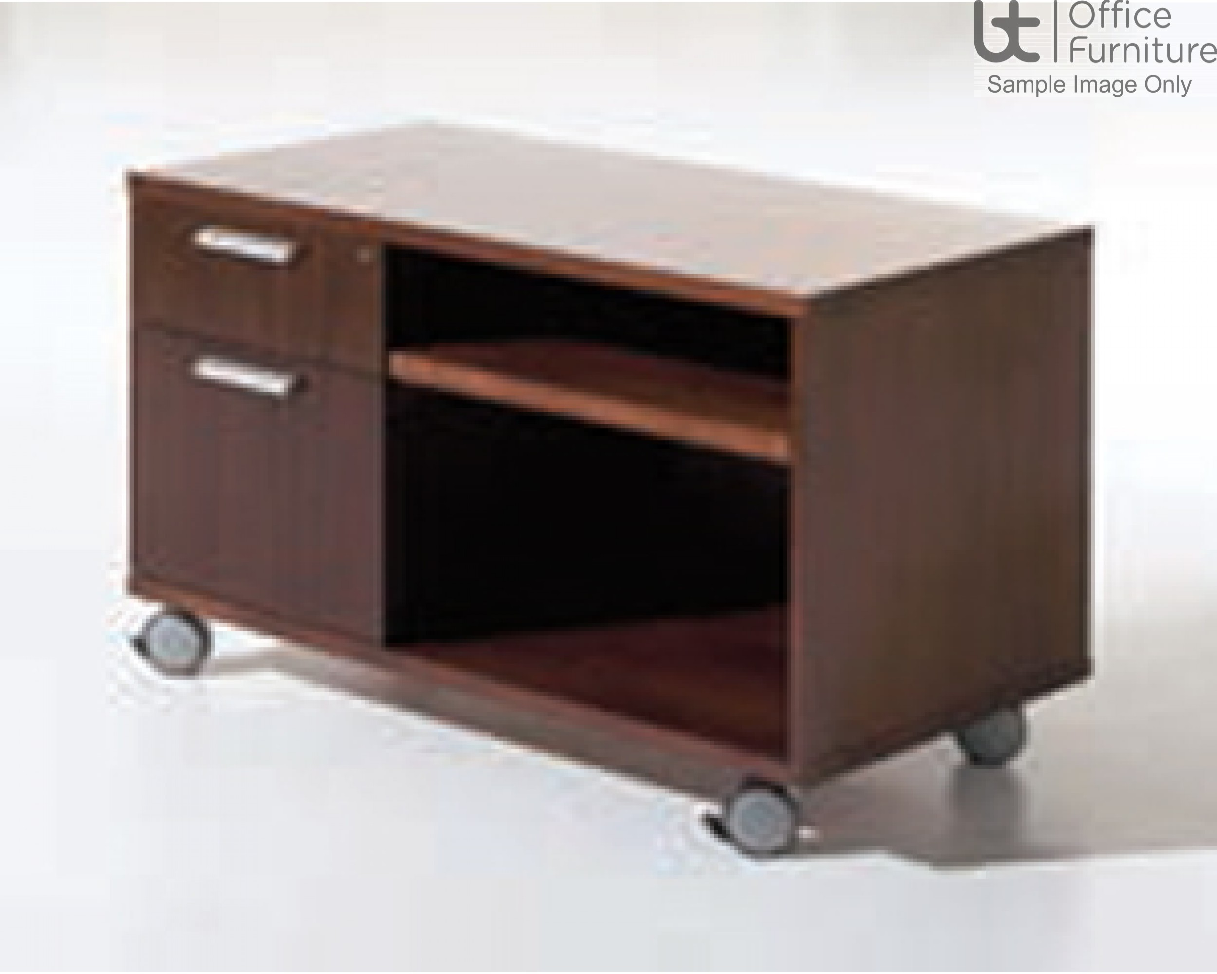 Verco Intuition Mobile Storage Unit with 2 Drawer Pedestal and Pull-Out Shelf