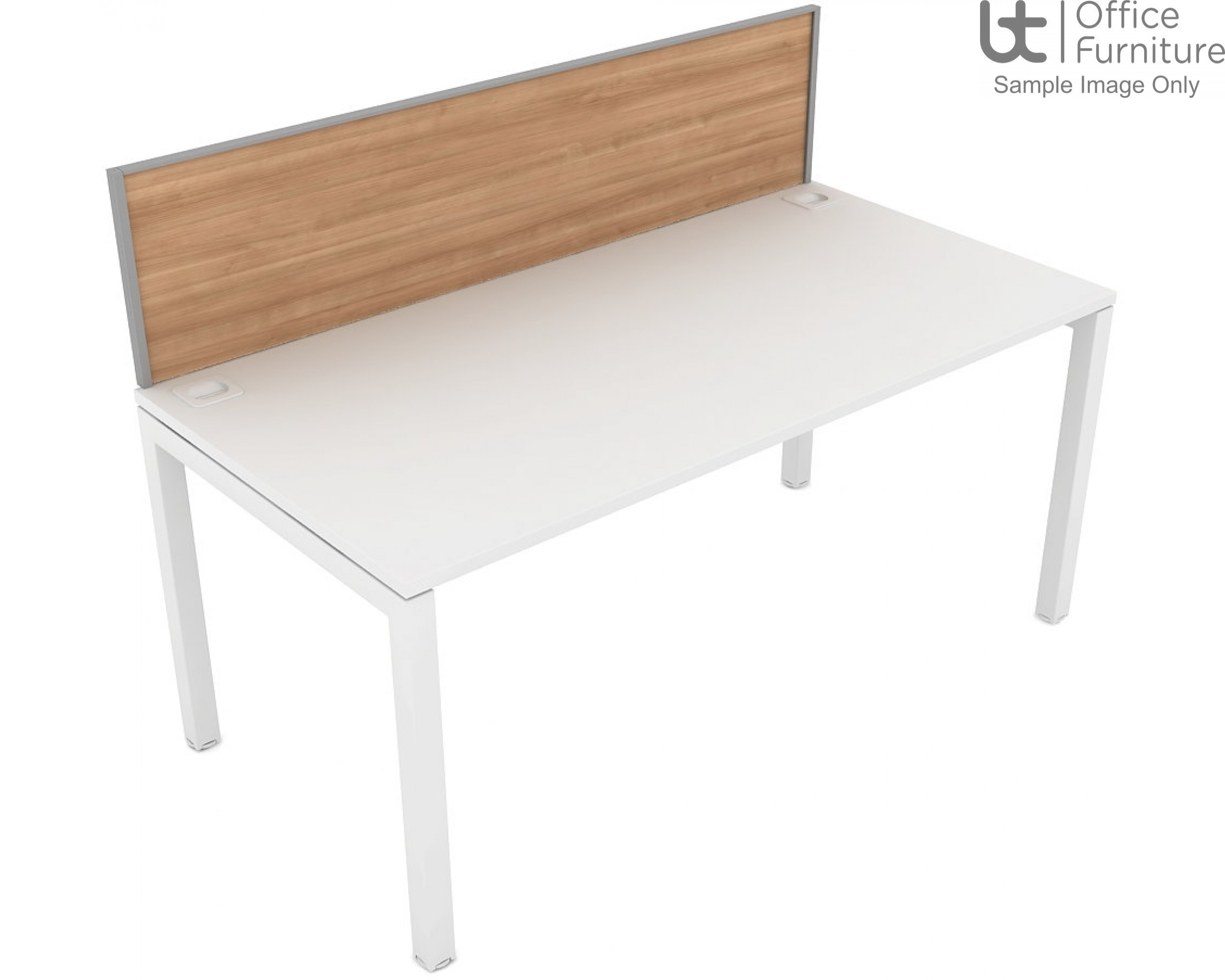 Elite Matrix Screen - MFC (Fixed Height) System Screen For Single Desk