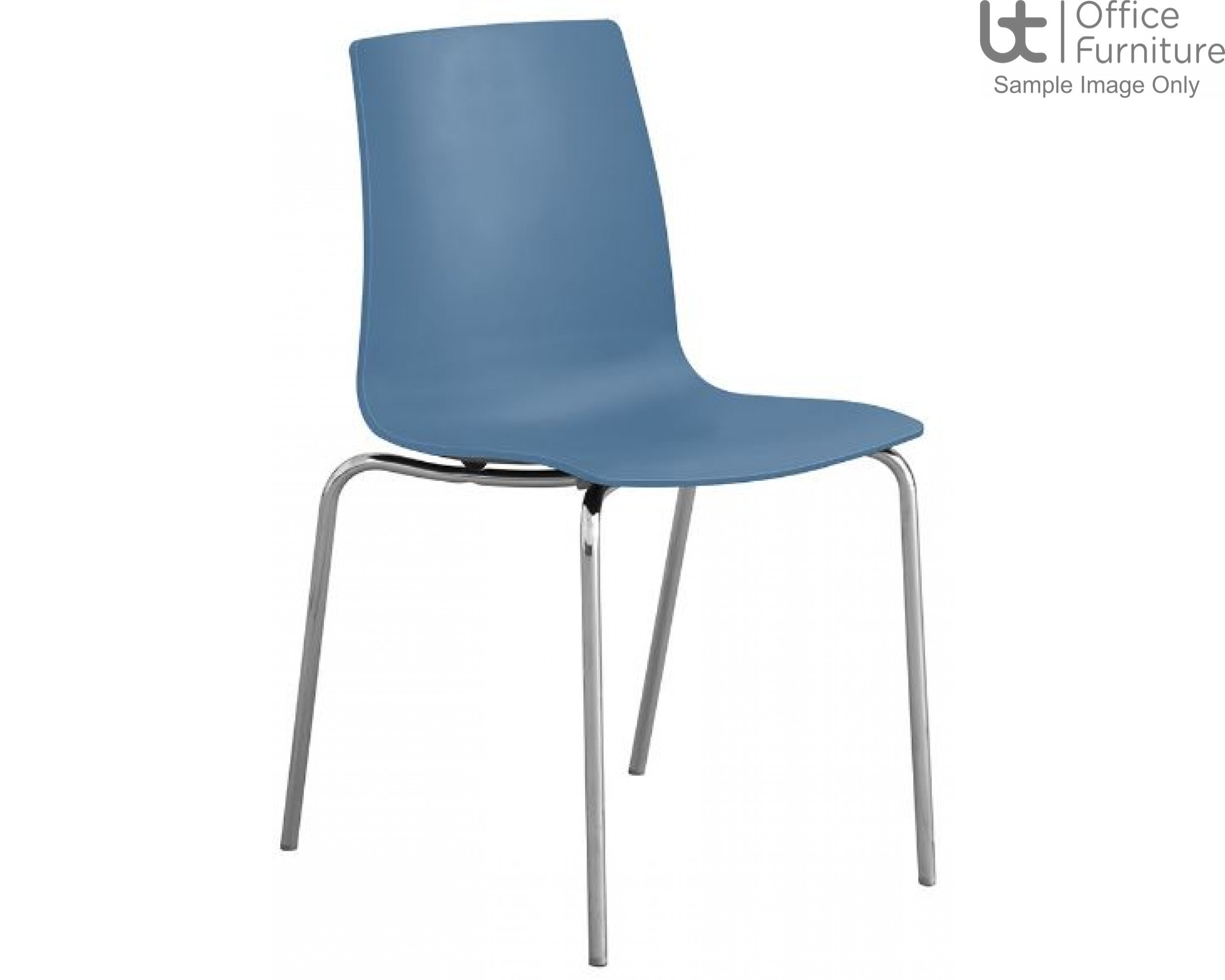 Stanza Blue Cafe/Bistro/Canteen Chair