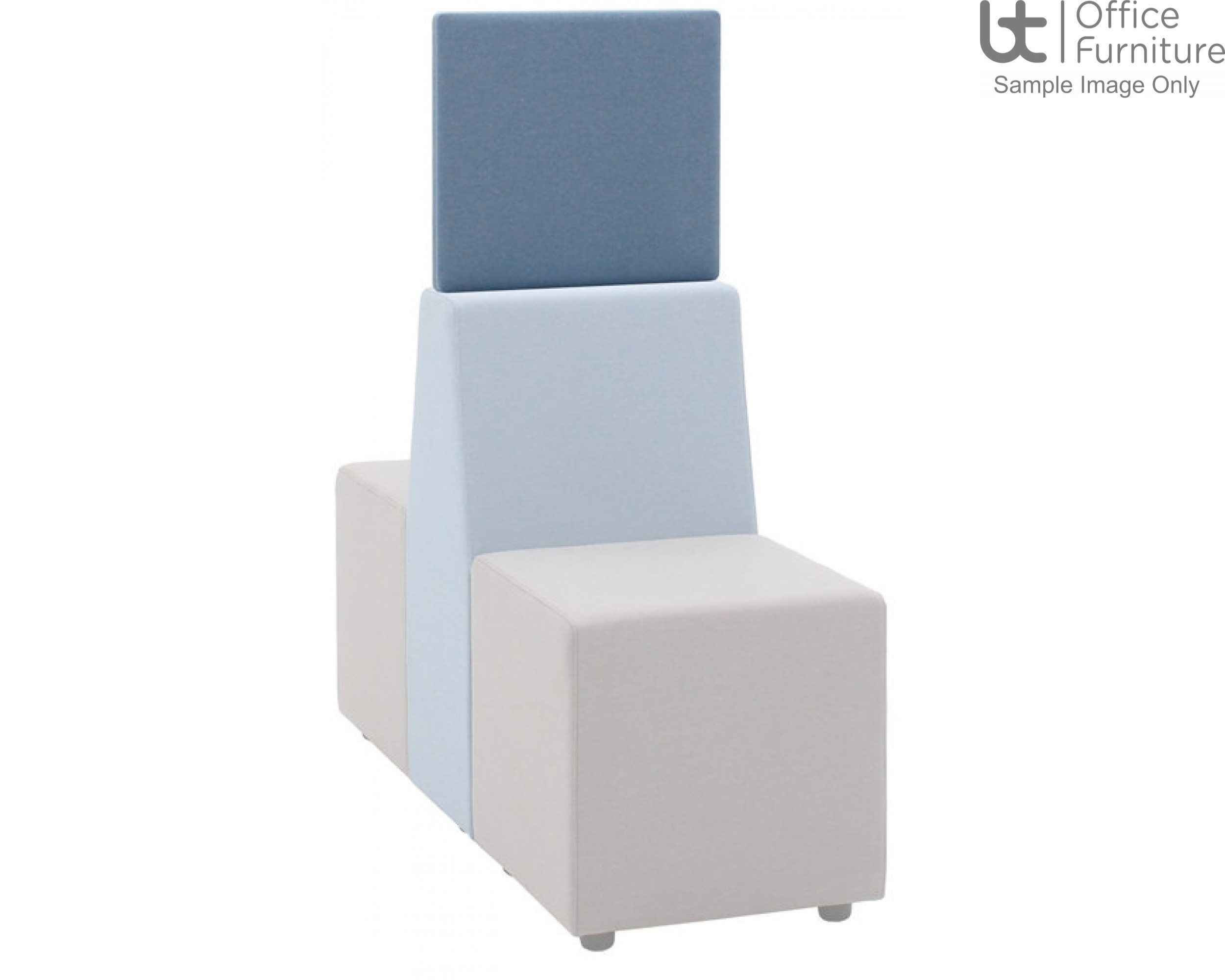 Verco Soft Seating - Box-It Landscape High Screen for Single Seat