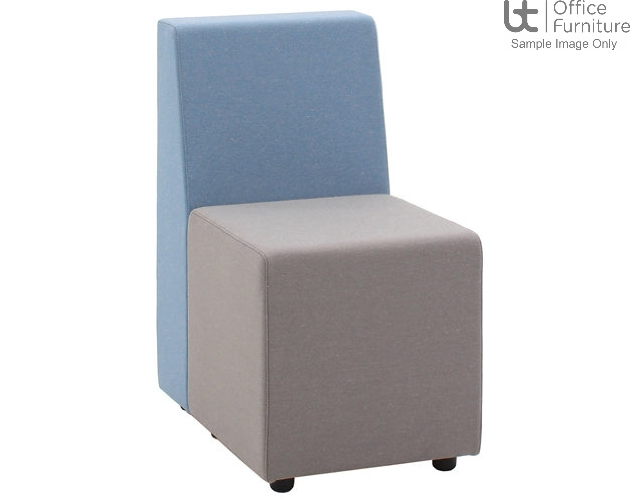 Verco Soft Seating - Box-It Landscape Single Unit with a Single Back