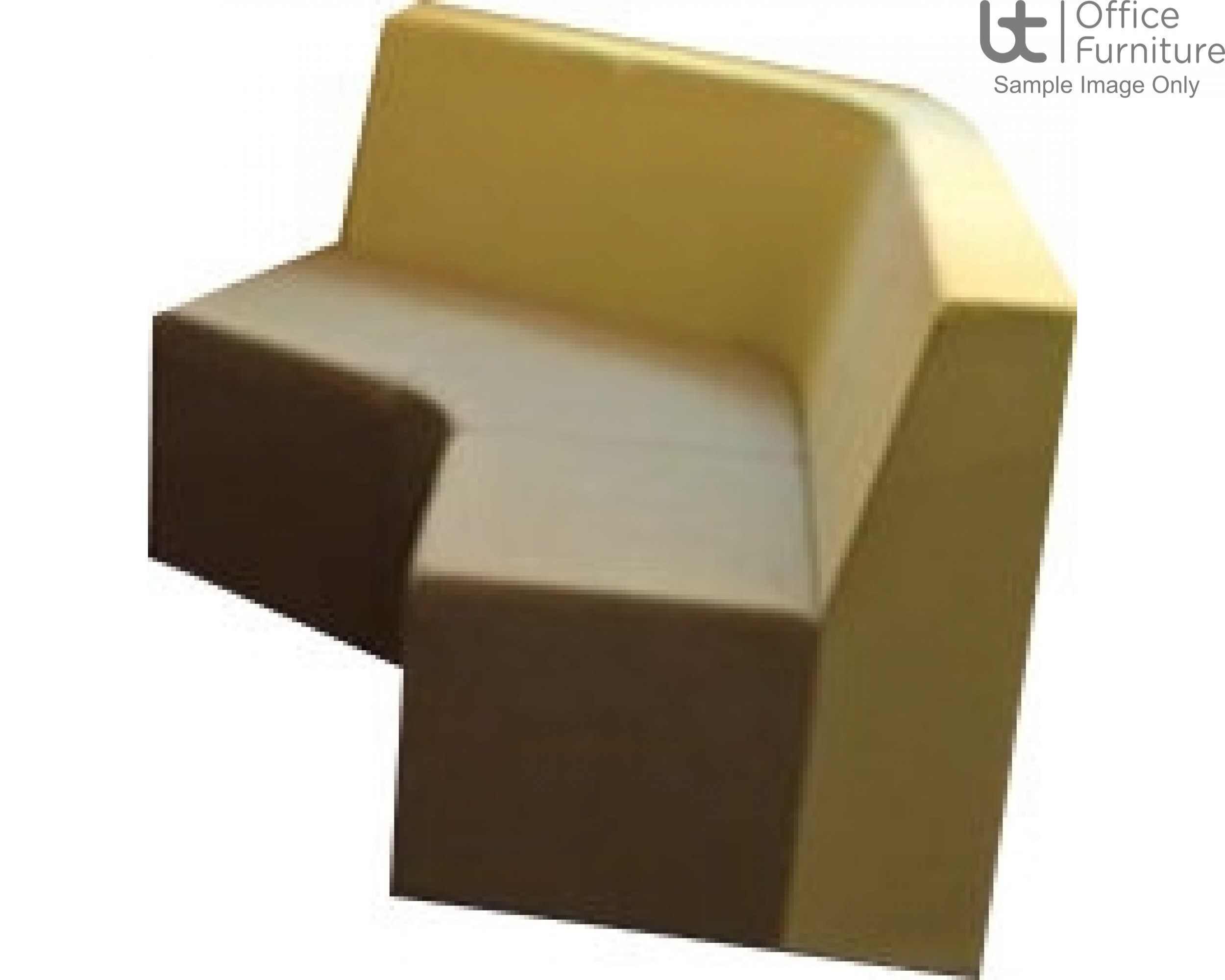 Verco Soft Seating - Box-It Landscape 120 Degree Unit with a Single Back