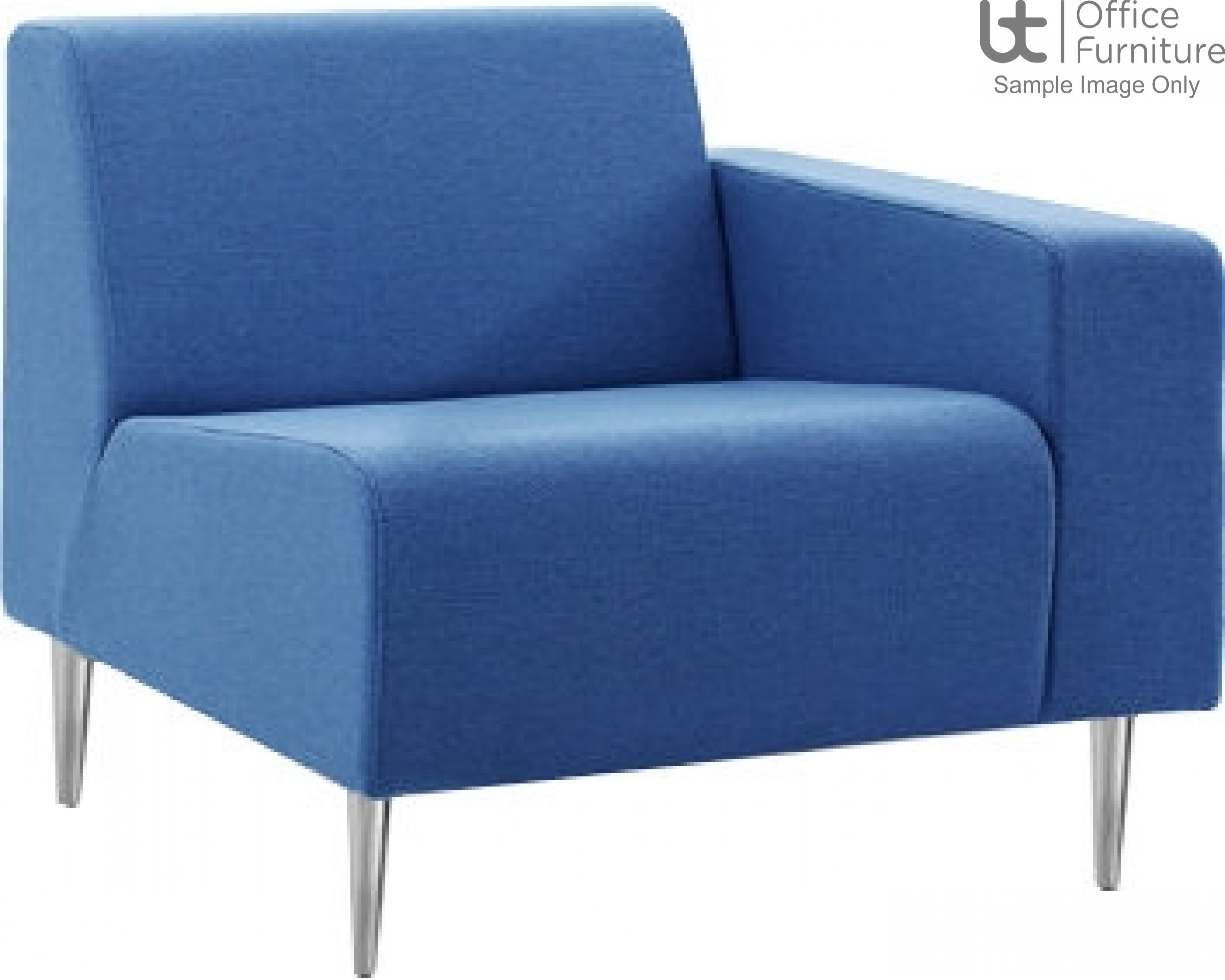 Verco Soft Seating - Bradley Single Couch with a Left Hand Facing Arm