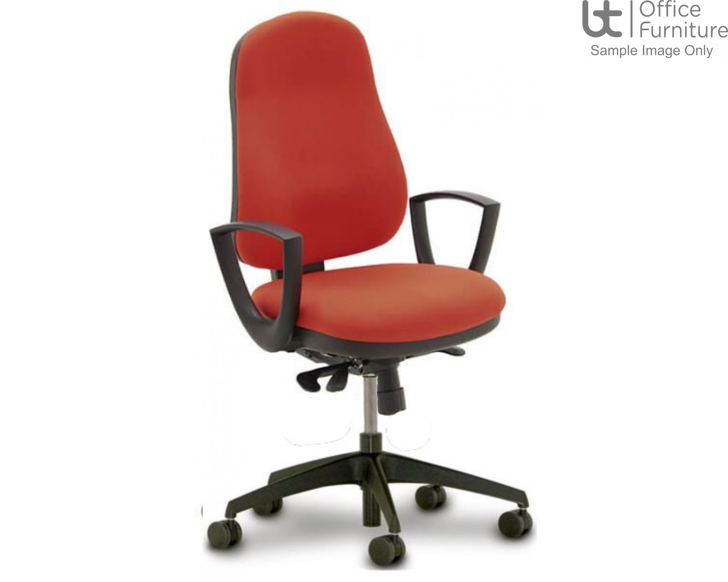Verco Operator/Task Chair - Buzz Large Ergonomic Back Task Chair with Arms