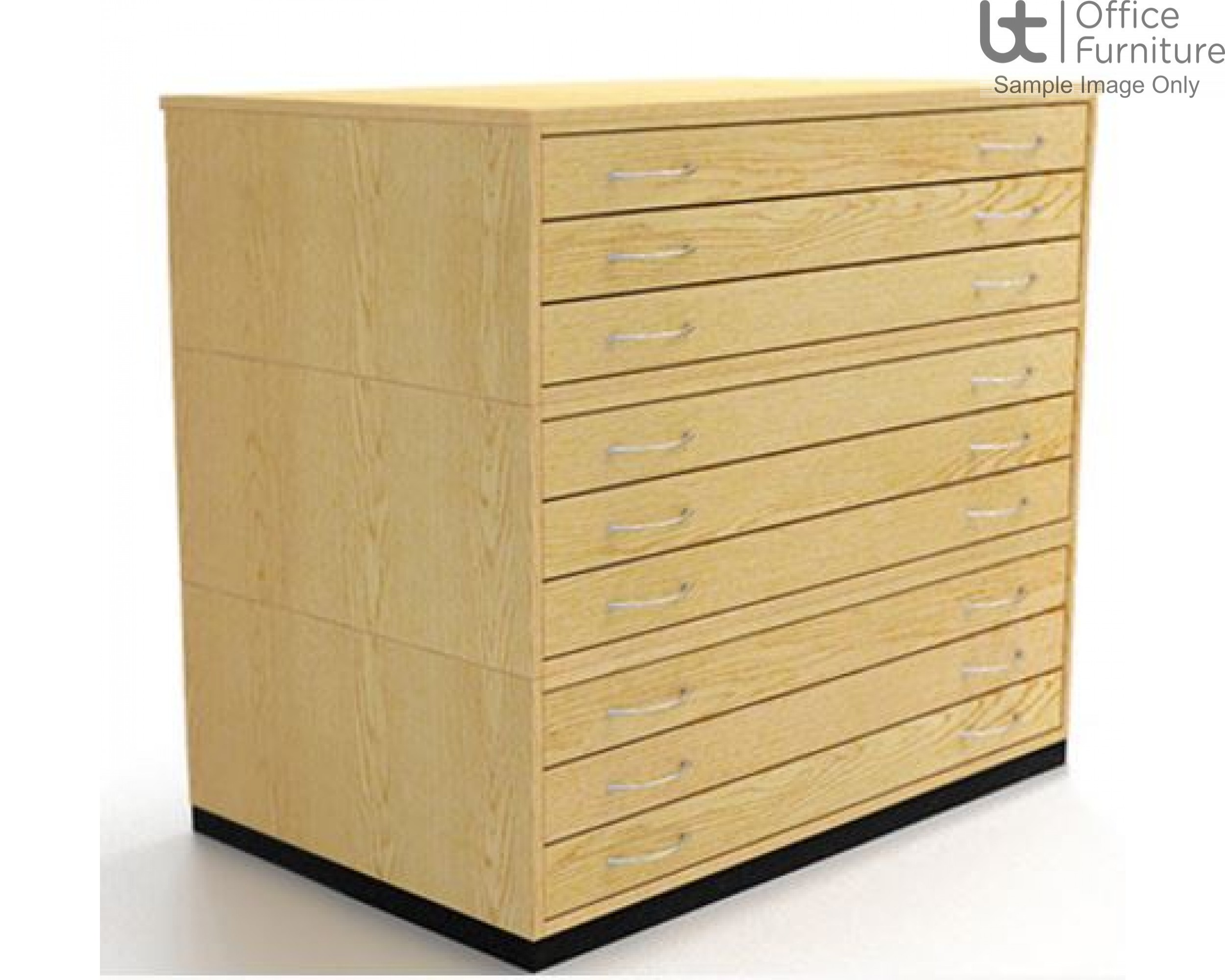 Traditional A0 9 Drawer Plan Chest (planchest)