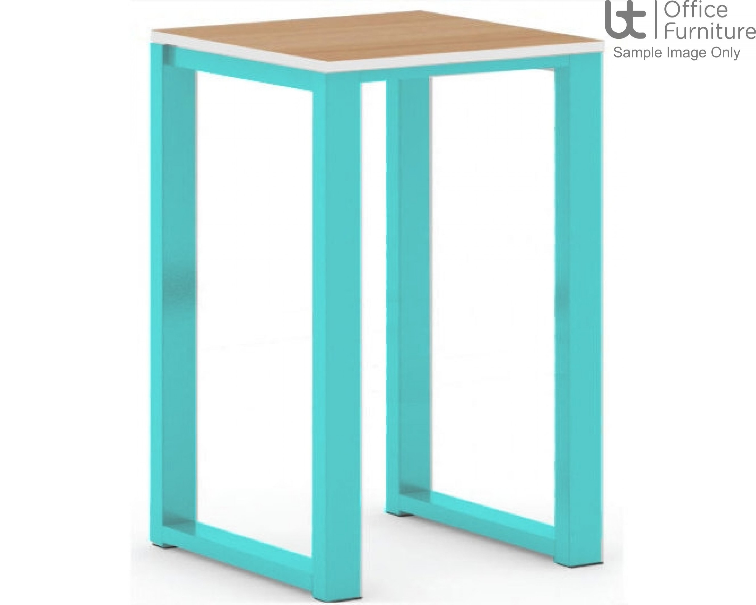 Urban 40/40 Robust 25mm Laminate Top School Bench Dining Low Stool (Premium Frame Colours)