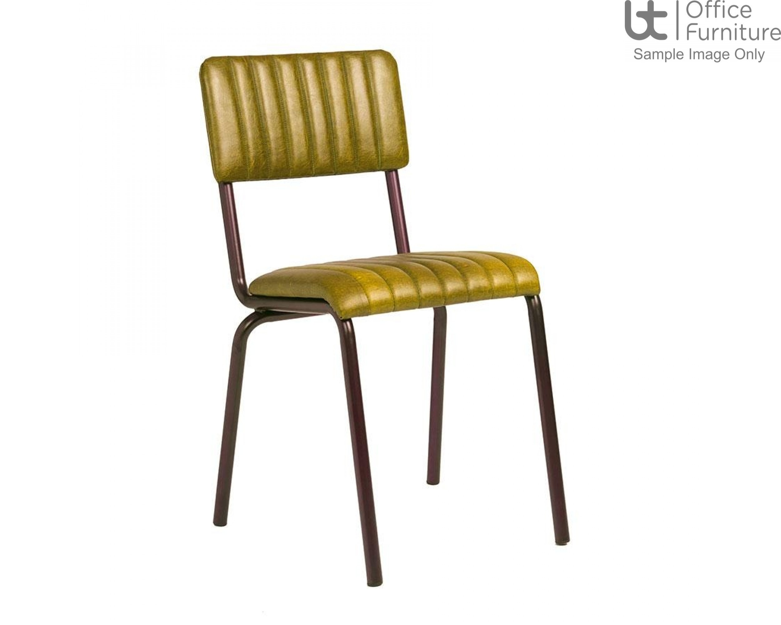 ZP CORE Ribbed Side Chair – Lascari Vintage Gold