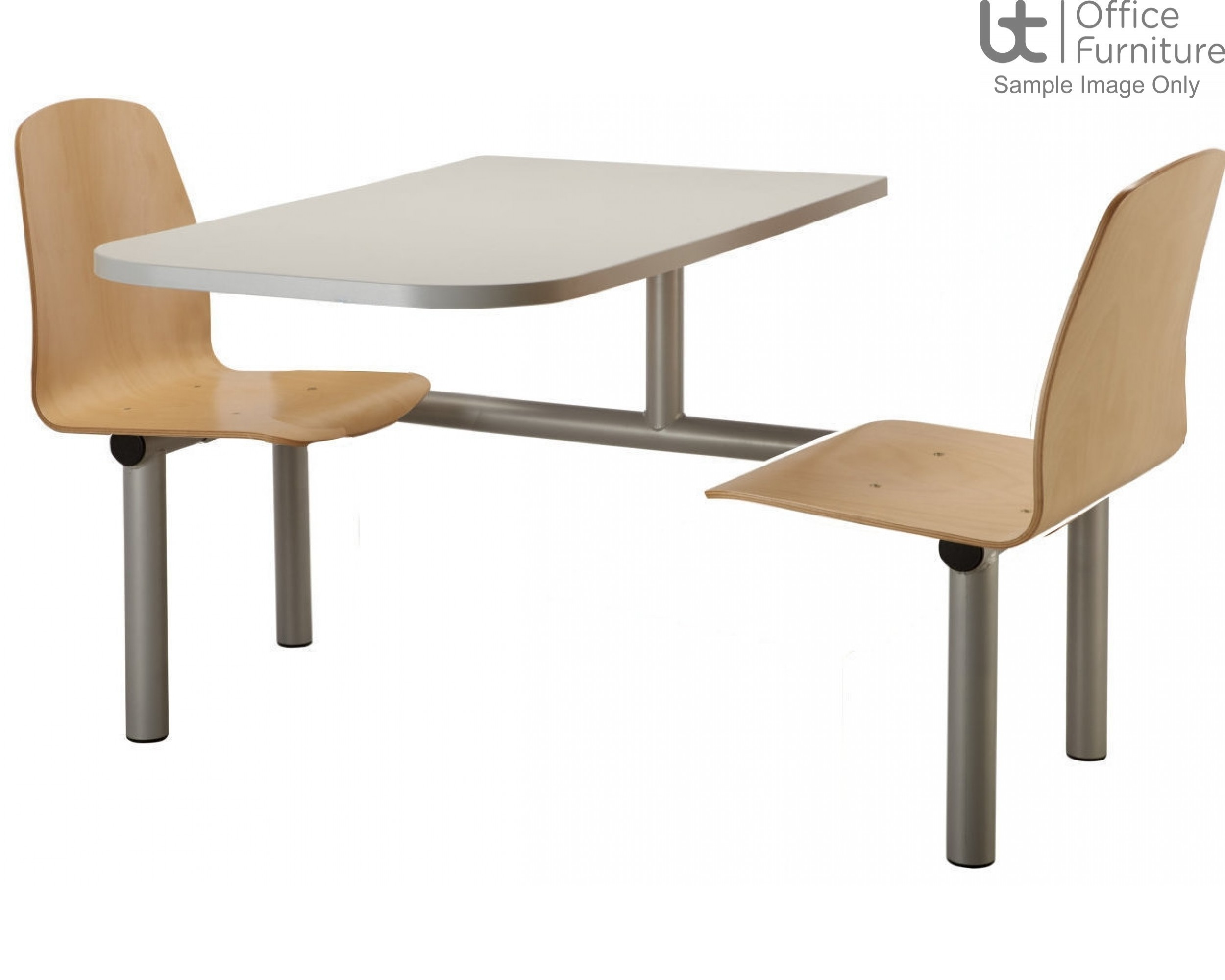 Butterfly Range 2 Seat Modular Canteen Fast Food Units
