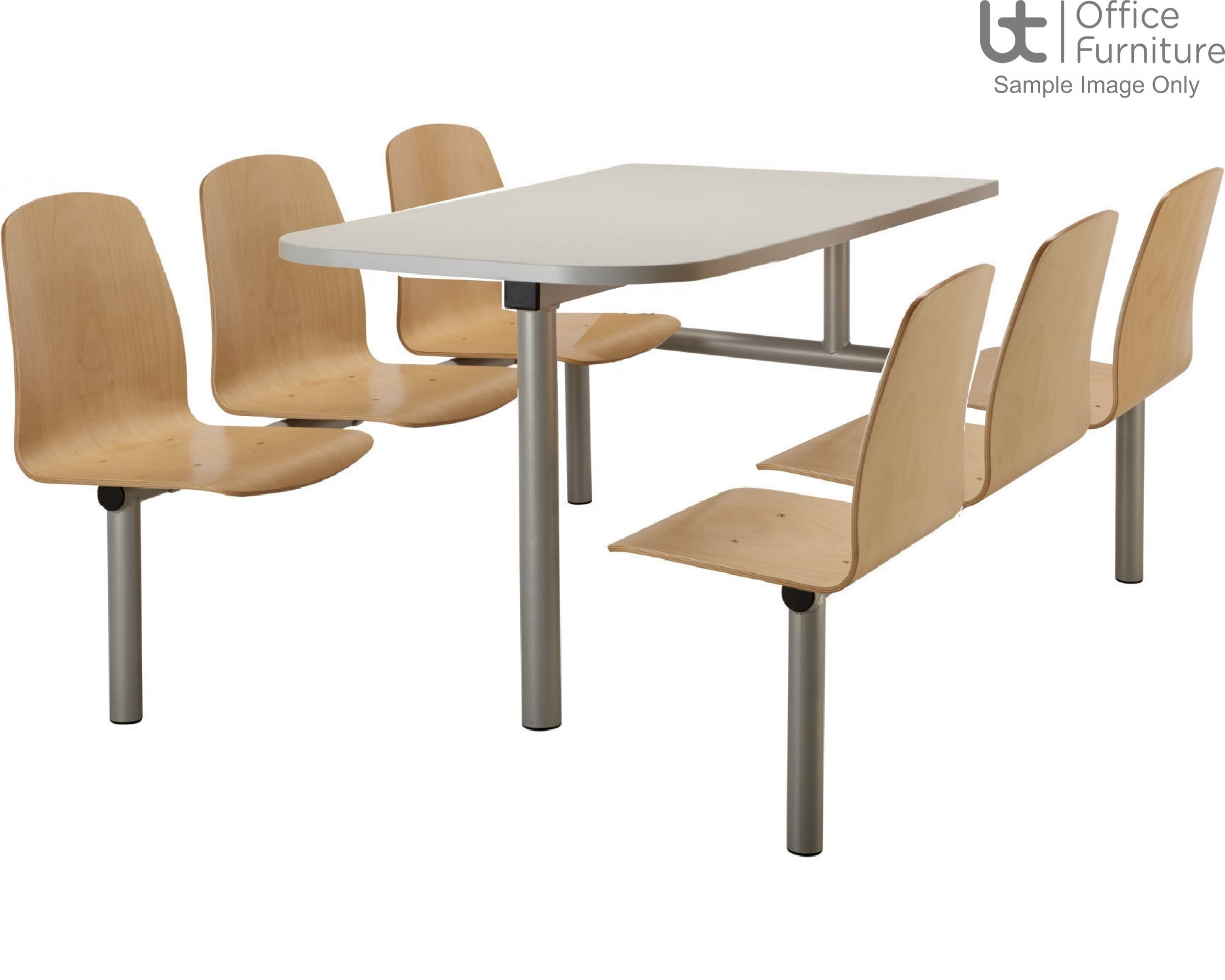Butterfly Range 6 Seat Modular Canteen Fast Food Units
