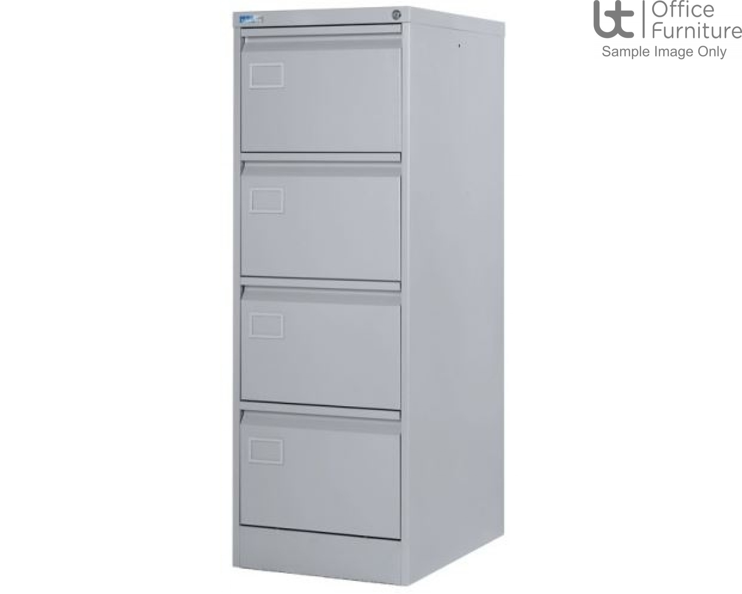 Silverline Executive 4 Drawer Filing Cabinet