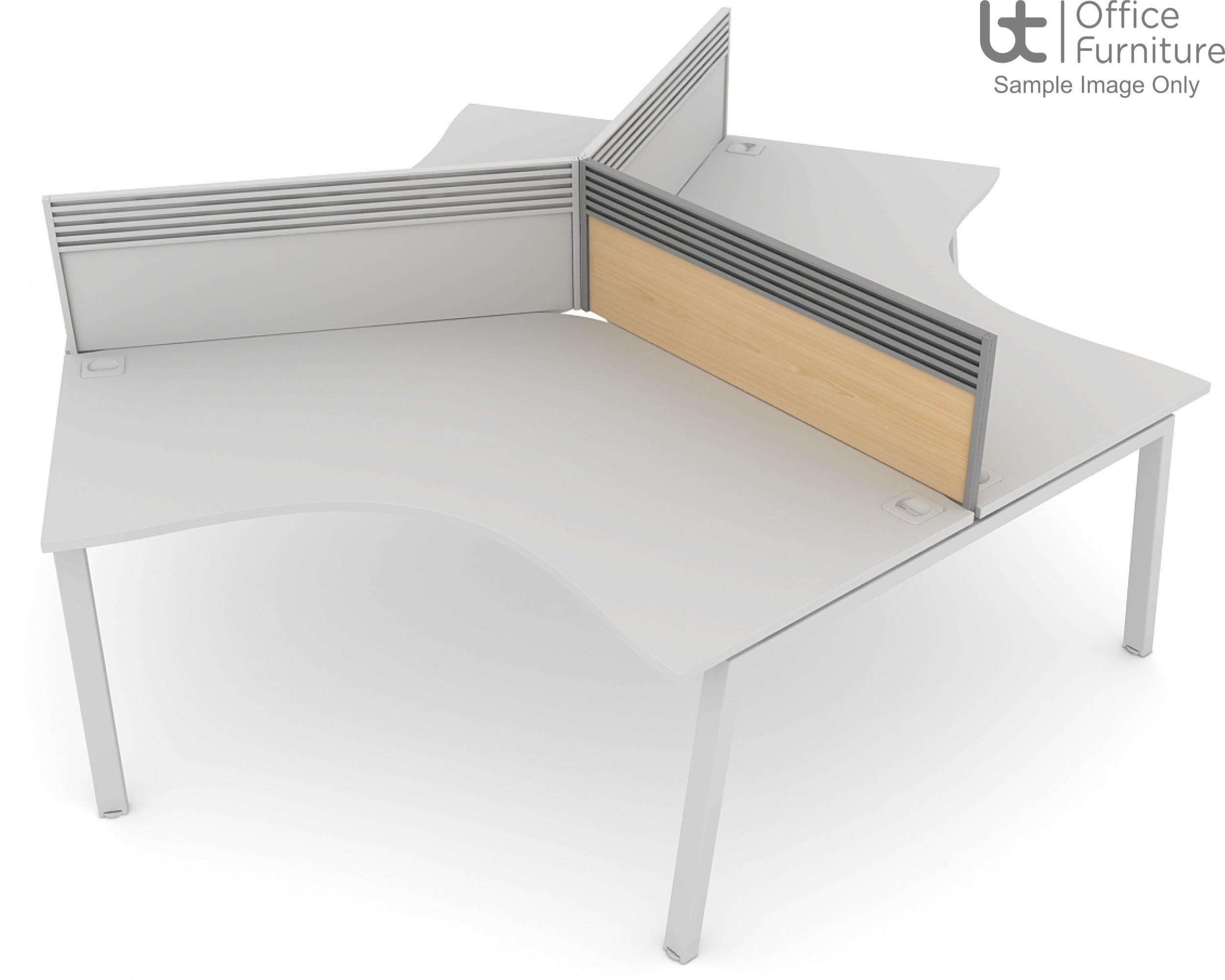 Elite Linnea System Screen - MFC 120 Degree Screen with Management Rail