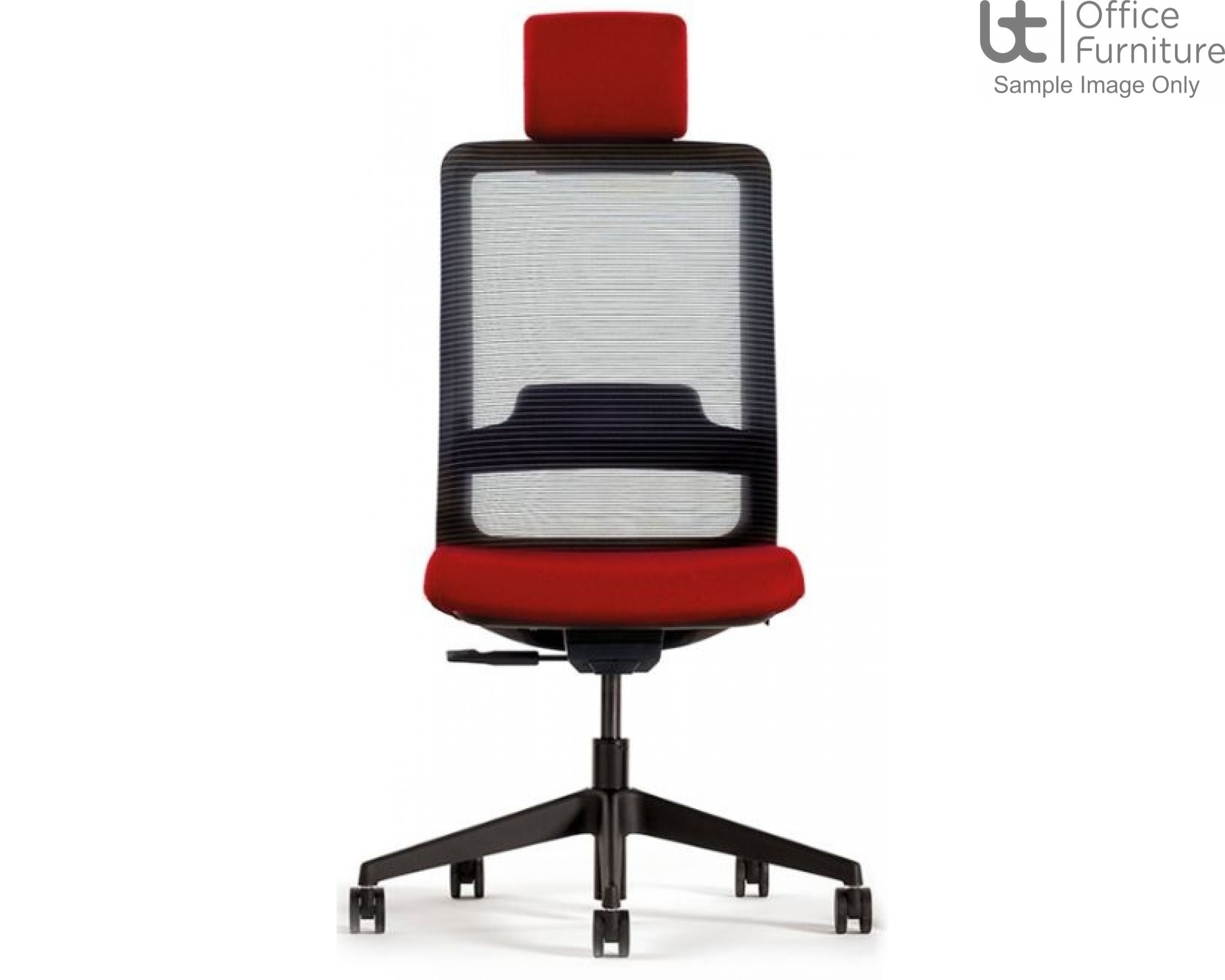Verco Operator/Task Chair - Max High Back Task Chair with Headrest