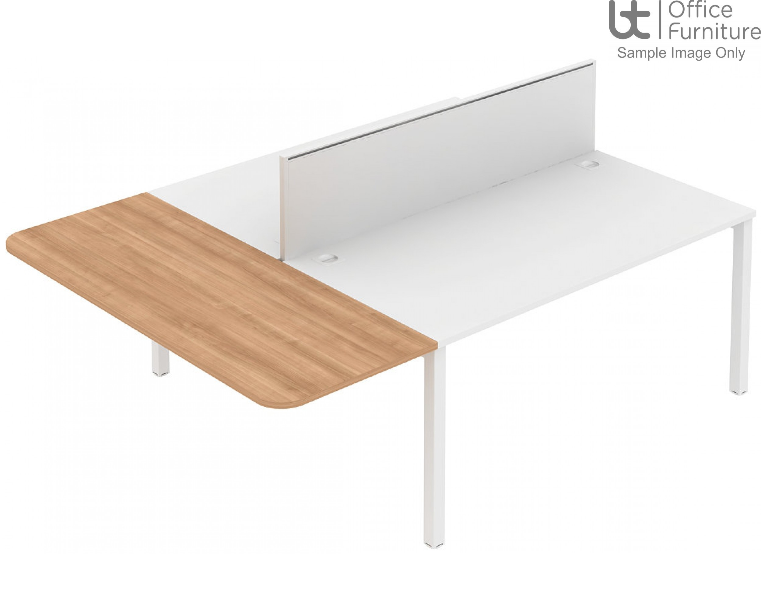 Elite Matrix Table - Straight Extension with Contract or System Dividing Screens.