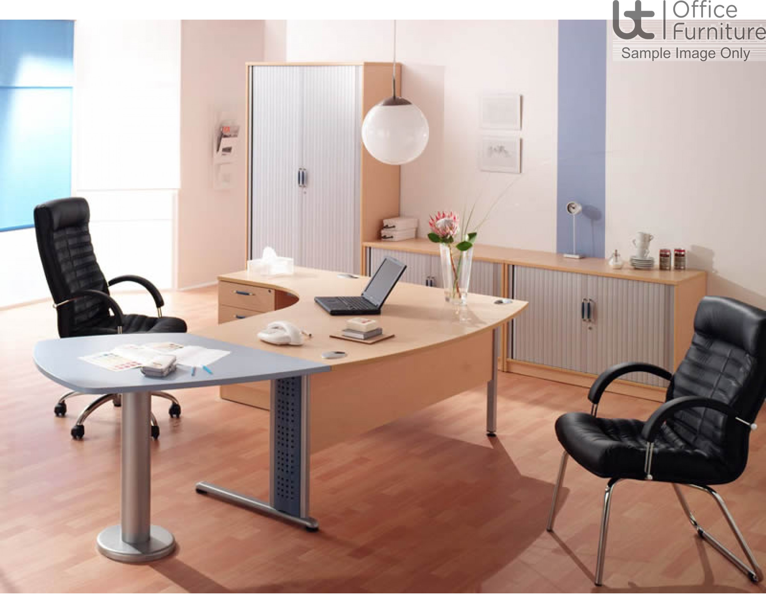 Elite Bow Extension Meeting Table
