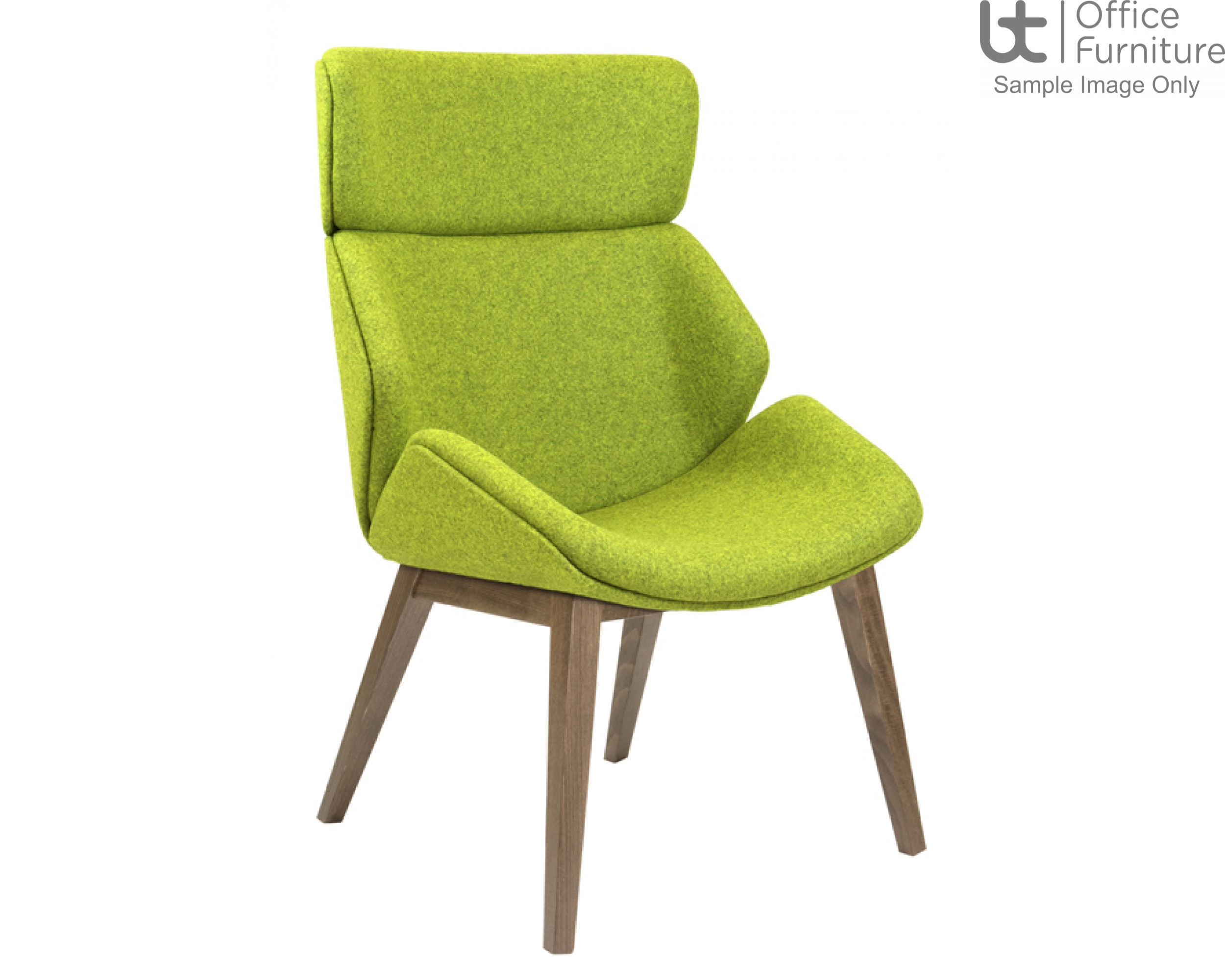 Elite Fully Upholstered Shell Cascara Visitor & Lounge Chairs