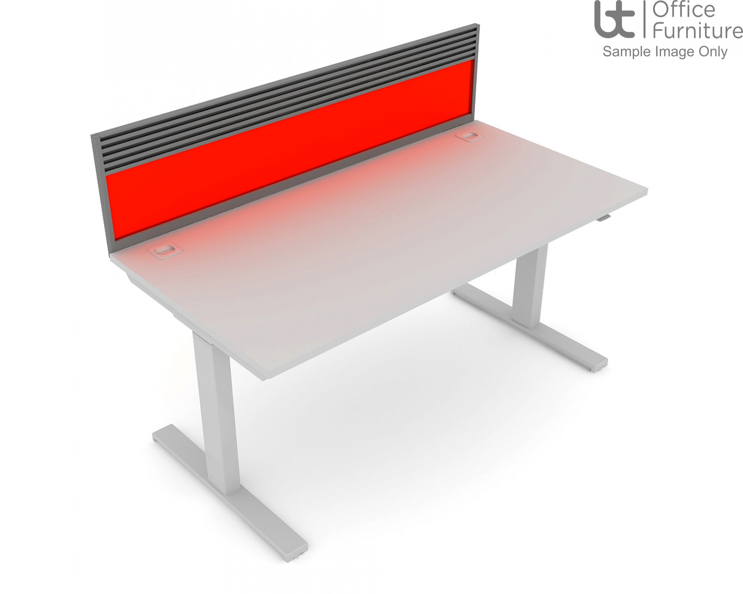 Elite System Screen with Management Rail - Acrylic