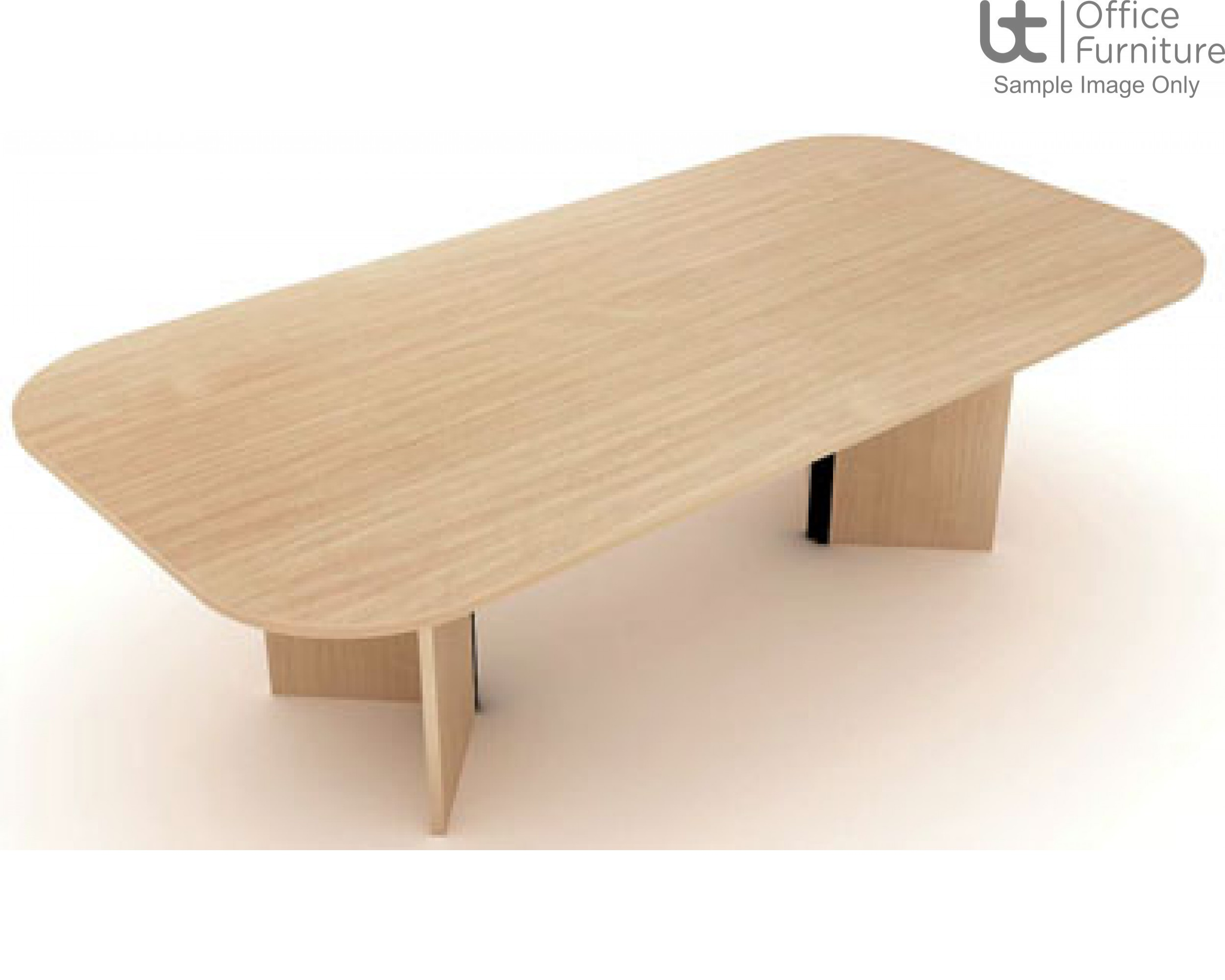 Elite Windsor Double D Ended Conference Table