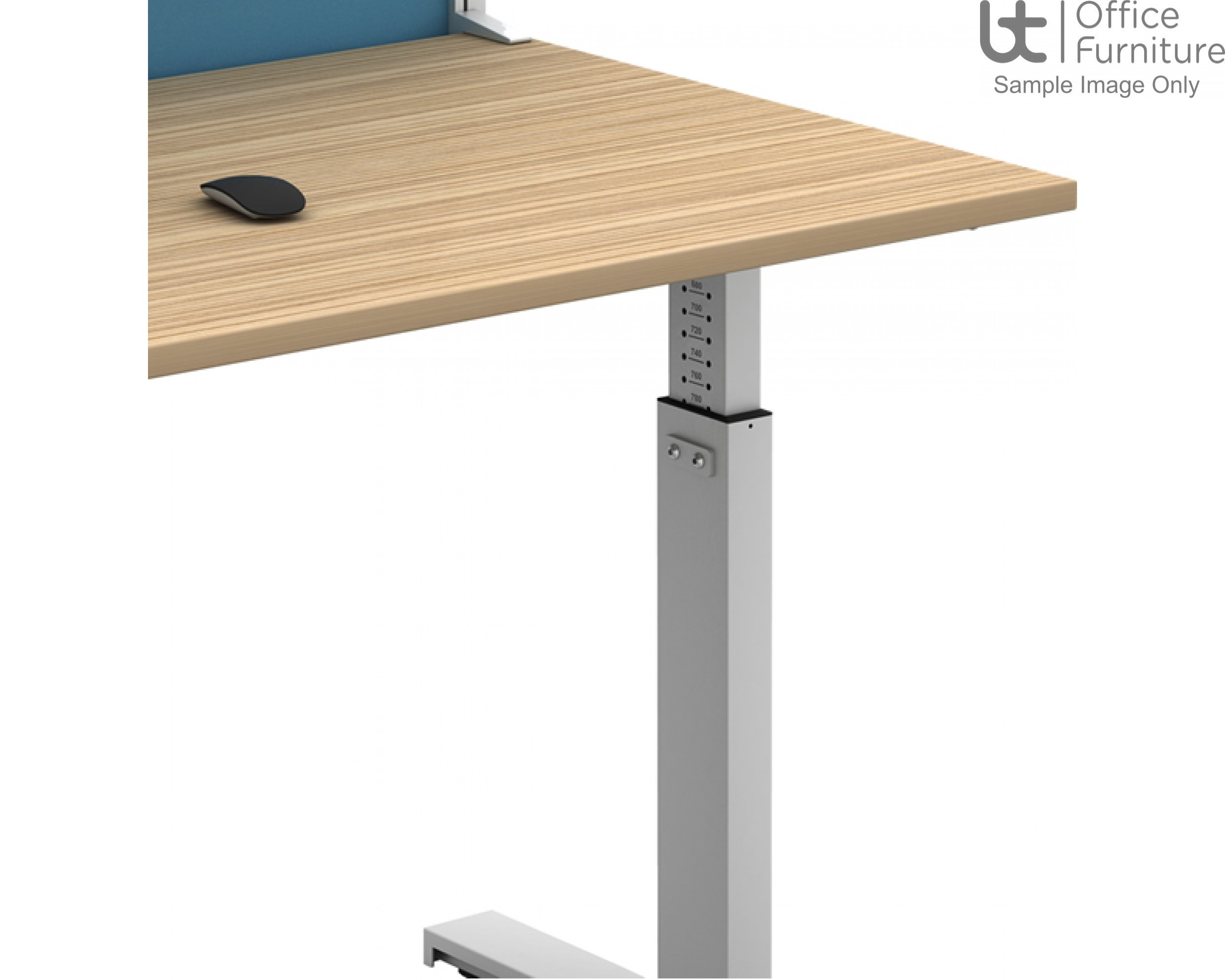 move! Set and Forget Rectangular Height Adjustable Sit-Stand Desk