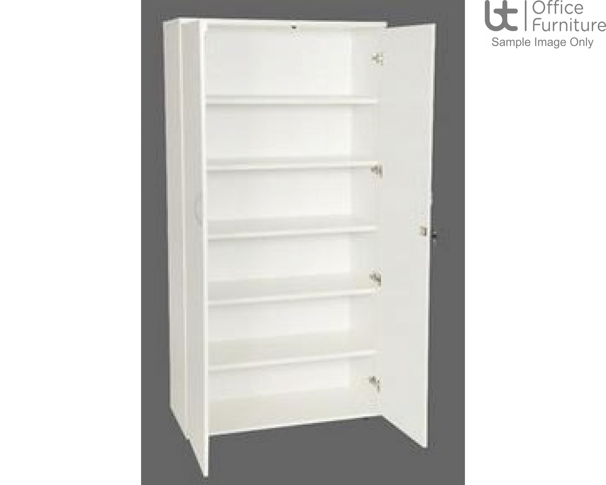 White Stationery Cupboards