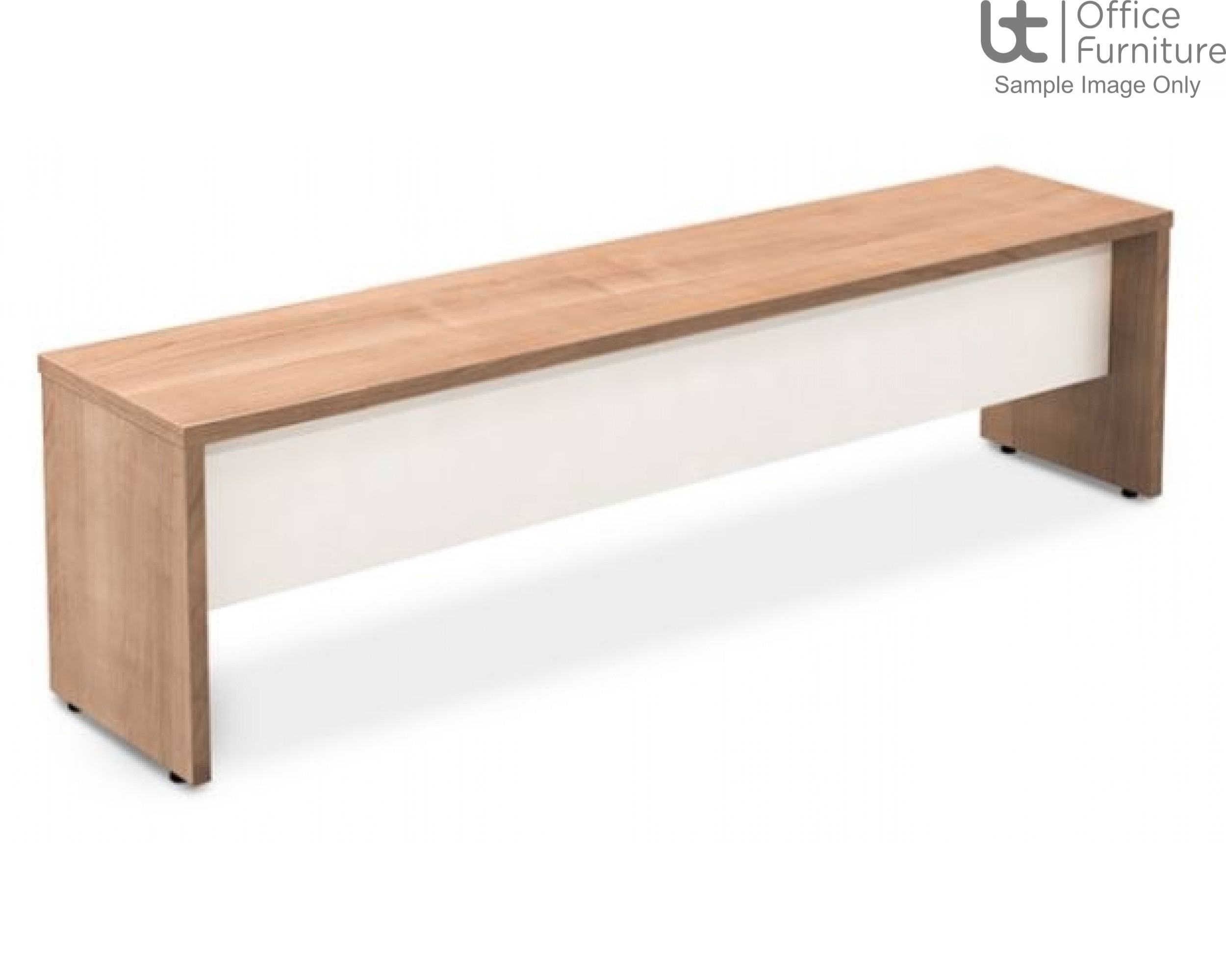Robust Block Panel Frame Bench Seat W1200 x D350 x H410mm