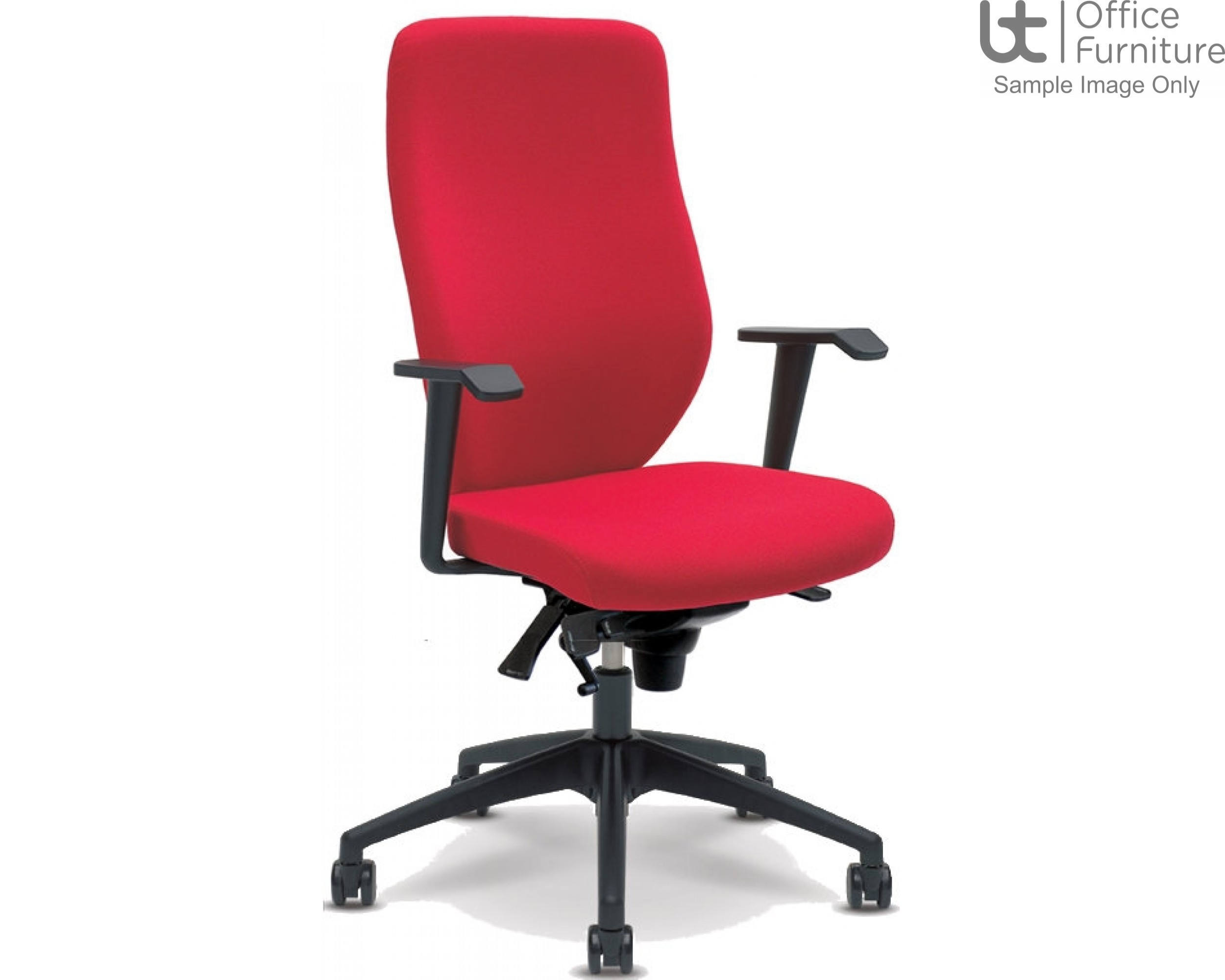 Verco Operator/Task Chair - Profile High Back Task Chair with Arms