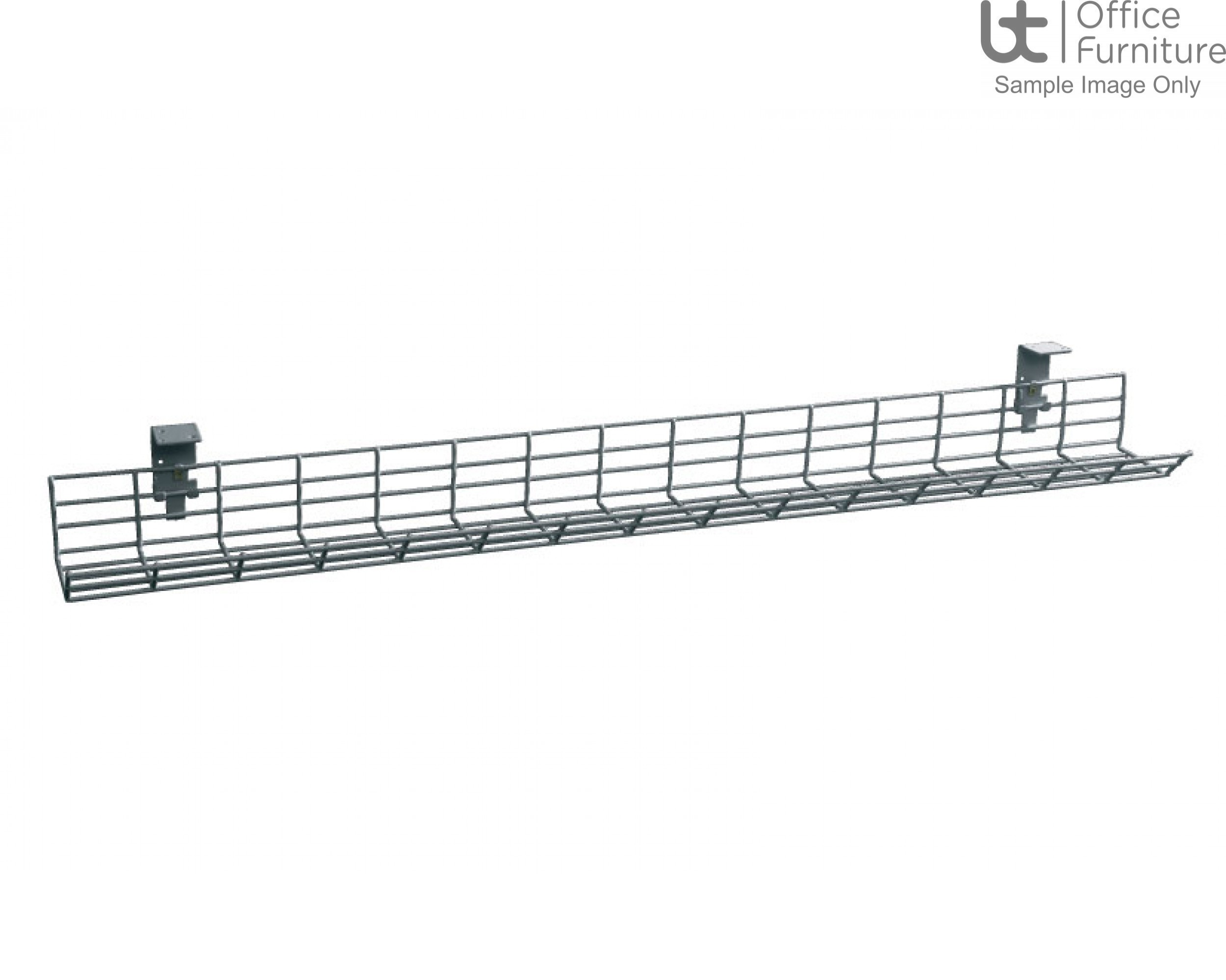 HOF Fusion Cable Basket with 2 Brackets - Grey