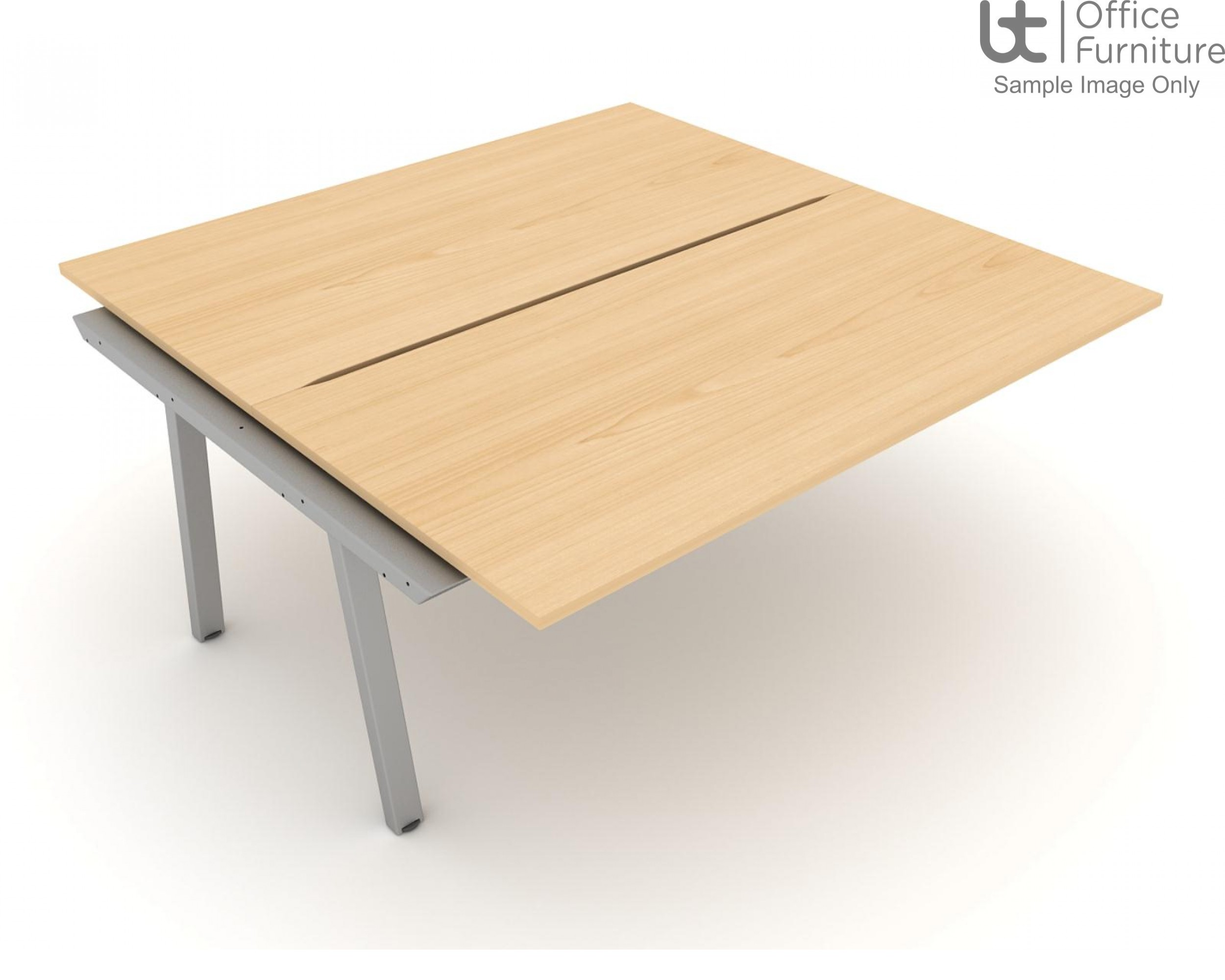 Elite Linnea 1200mm Double Bench with Shared Inset Leg