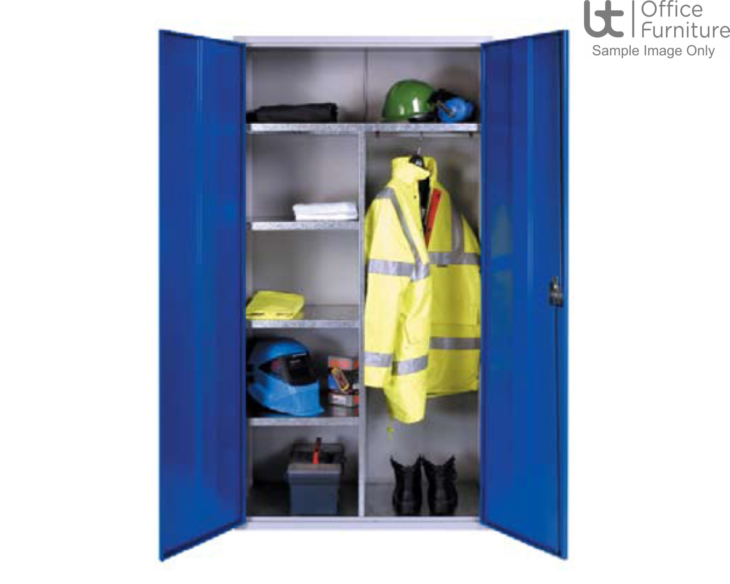 HOF PPE Clothing and Equipment Cabinet