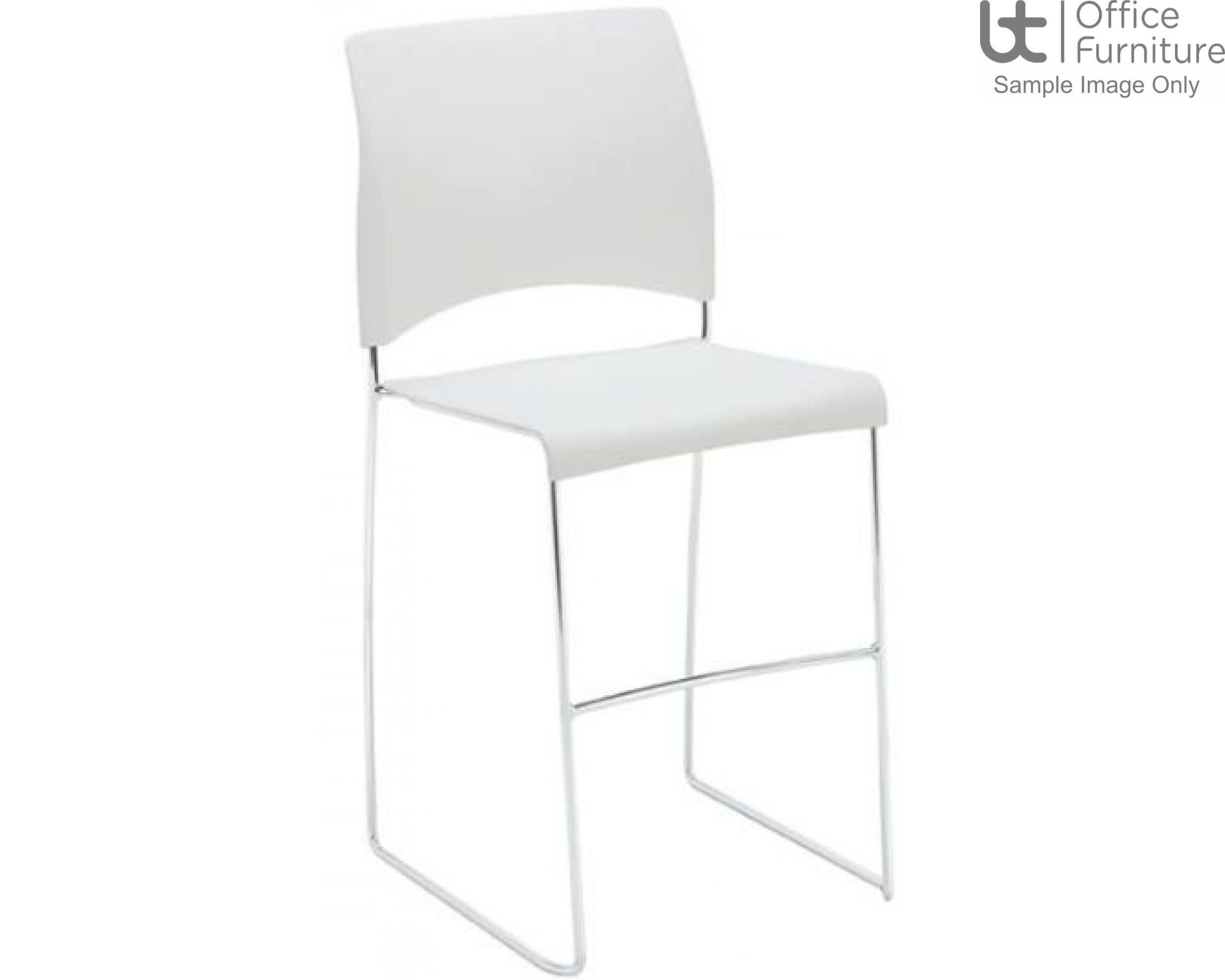 Verco Visitor / Conference Seating - Sting Medium Back Plastic Stacking Mid height Chair
