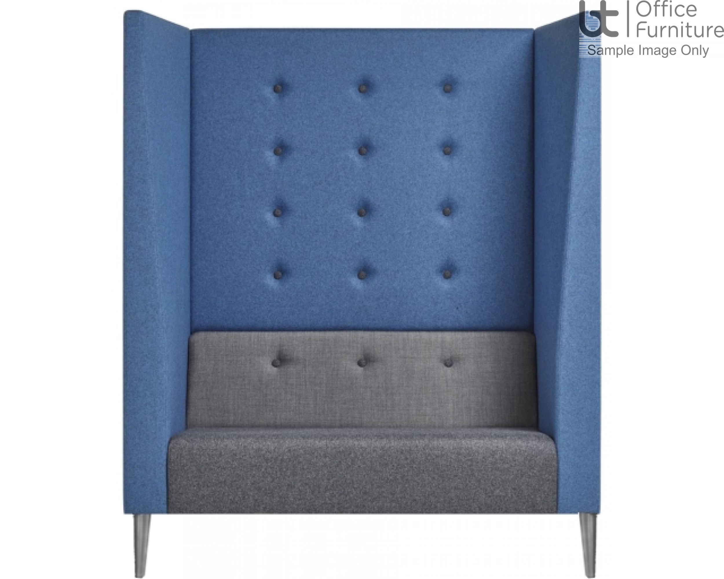 Verco Pod/Booth - Jensen-Up Plus - Two Person Unit with High Acoustic Surround