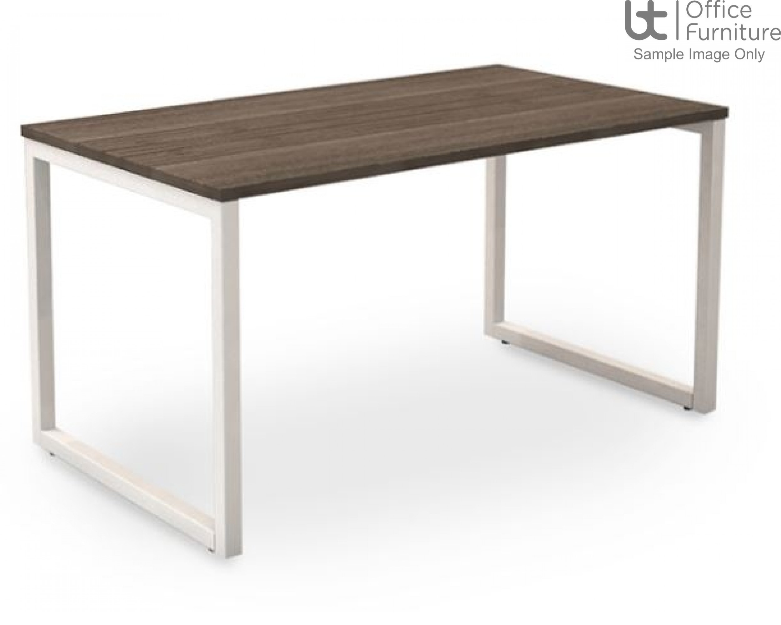 Robust Block Steel Frame Bench Dining Table W1800 x D800 x H740mm