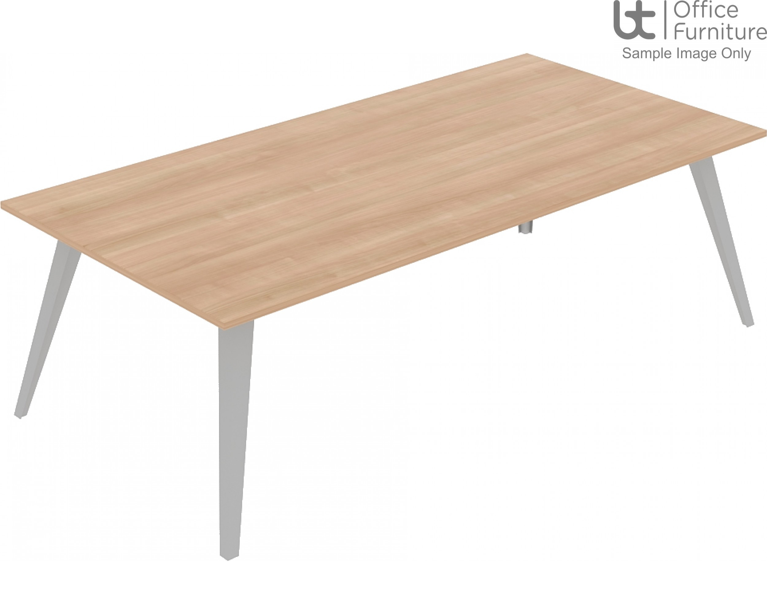Elite Reflex Table - Meeting/Boardroom Tables 1200mm Deep - 1400mm to 4800mm Long