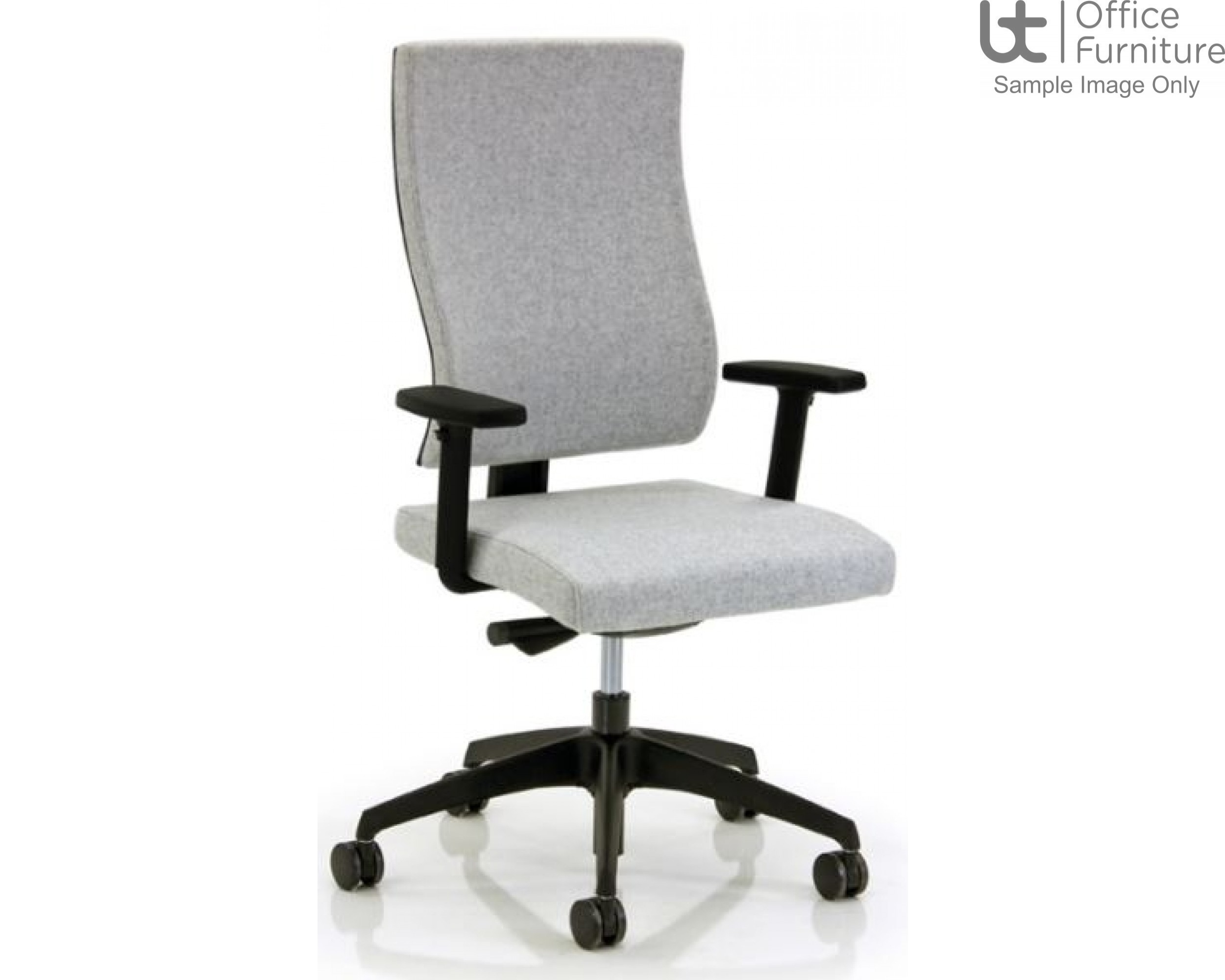 Verco Executive seating - Vibe Lite Medium Back Task Chair with Adjustable Arms